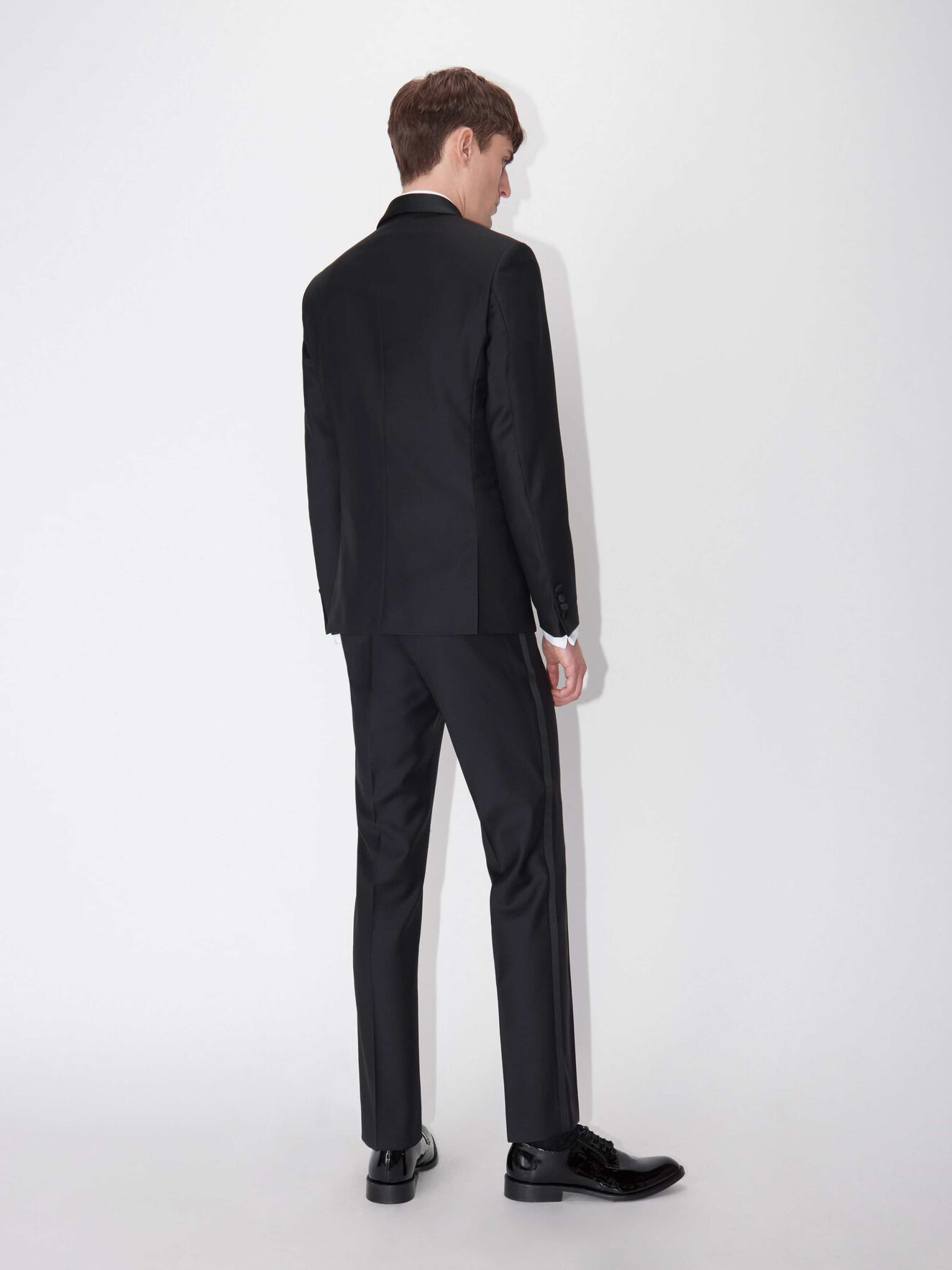 Terriss Trousers (Short Size) in Black from Tiger of Sweden