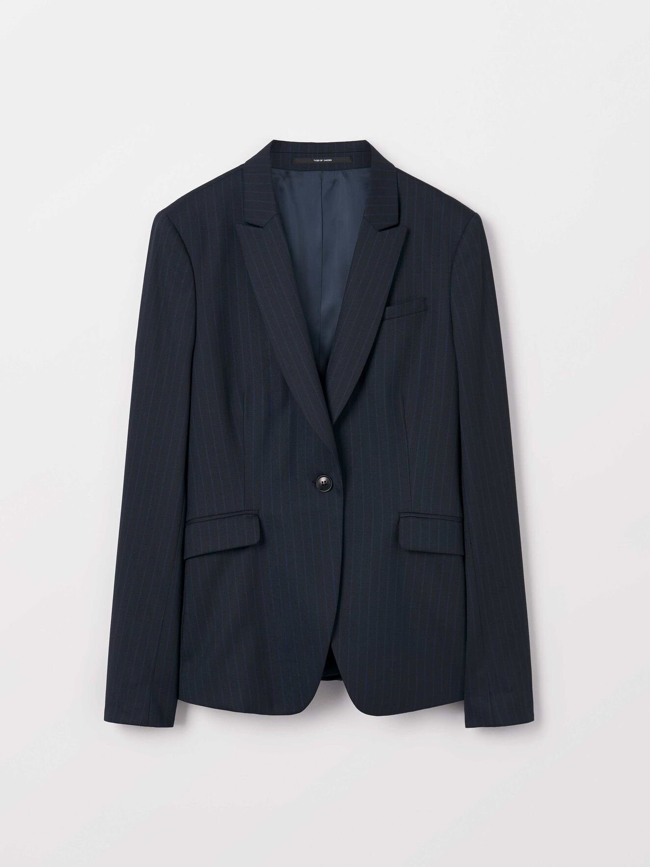 Ruma 3 Blazer in Dark Sea from Tiger of Sweden