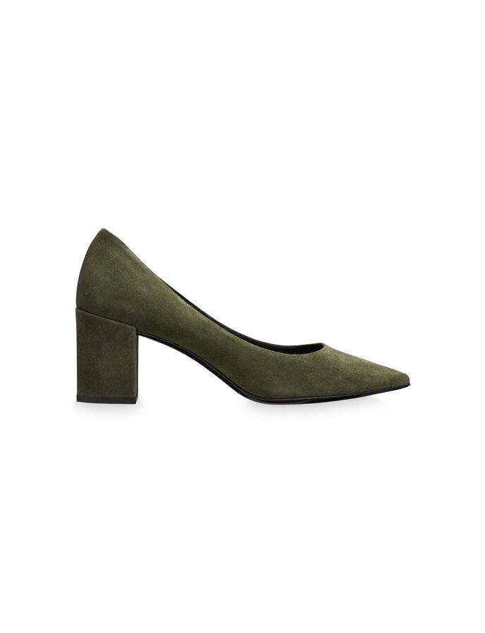 CLEO S PUMPS in Moss Green from Tiger of Sweden