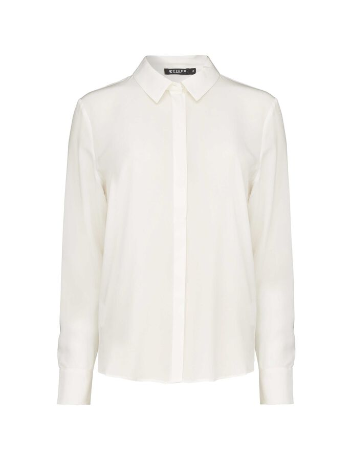 SILWA 2 SHIRT in Star White from Tiger of Sweden