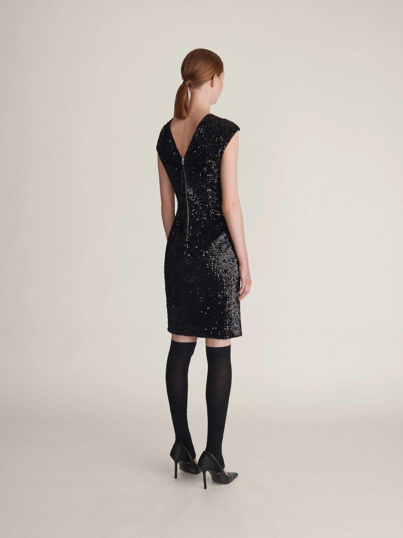Azha Dress in Midnight Black from Tiger of Sweden