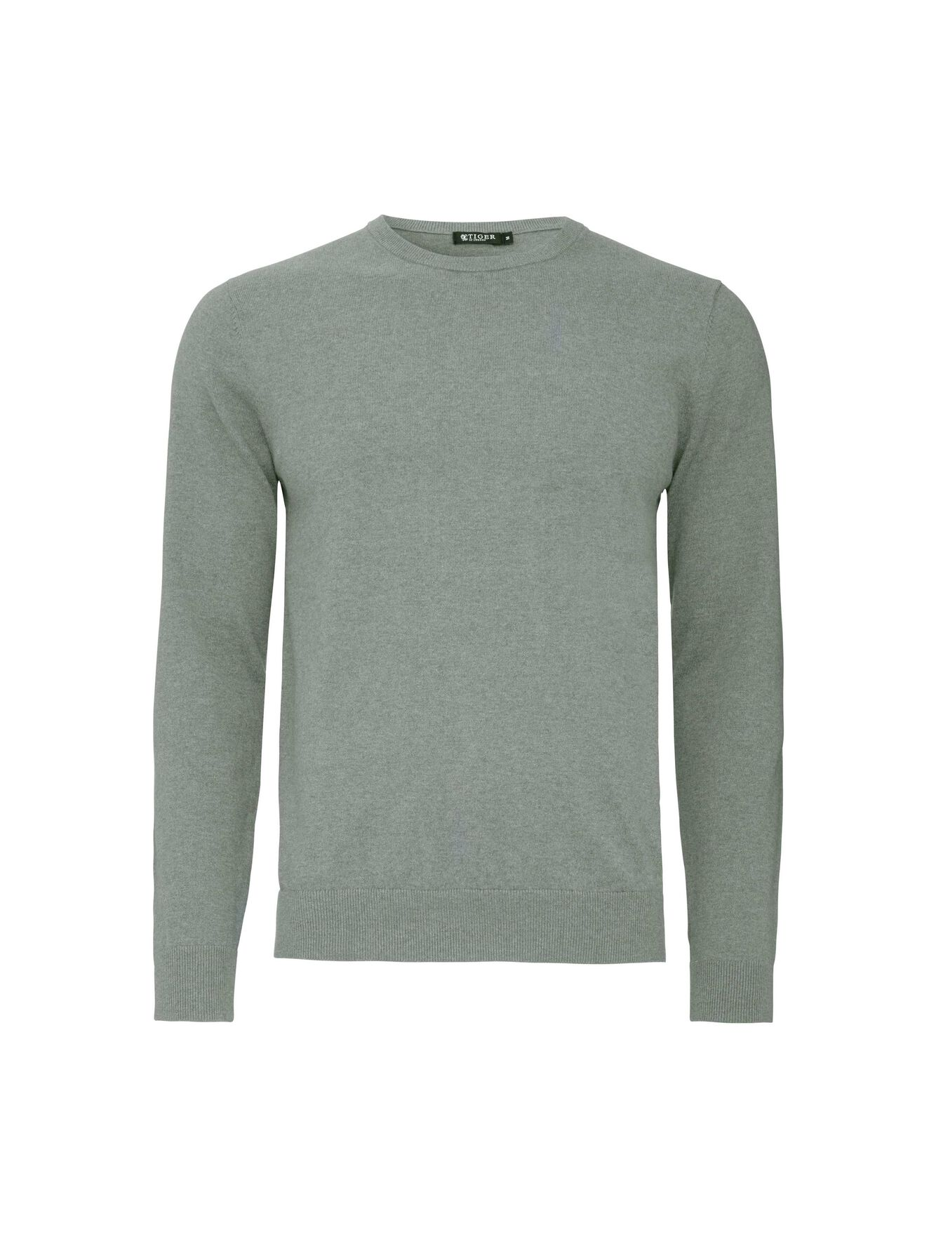 Matias CS pullover in Evergreen from Tiger of Sweden