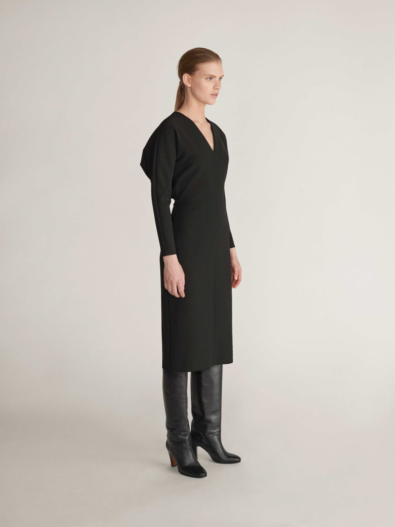 Assulu Dress in Midnight Black from Tiger of Sweden