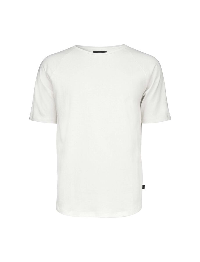 SIDE T-SHIRT in White Light from Tiger of Sweden