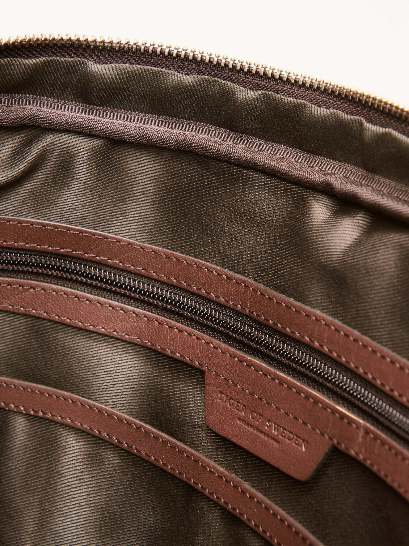 Marquet Briefcase in Medium Brown from Tiger of Sweden