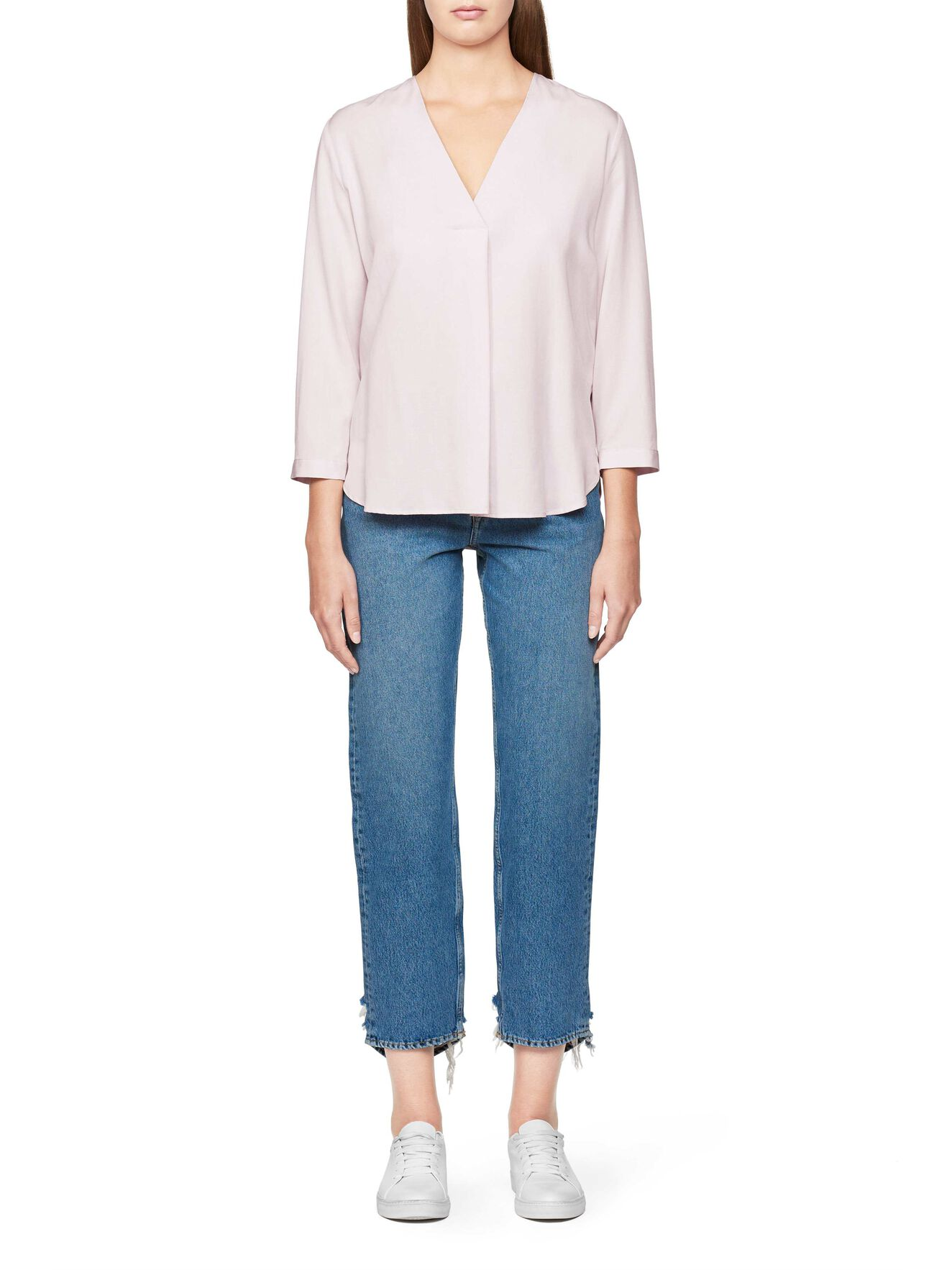 Mere 2 Blouse in Pale Pink from Tiger of Sweden