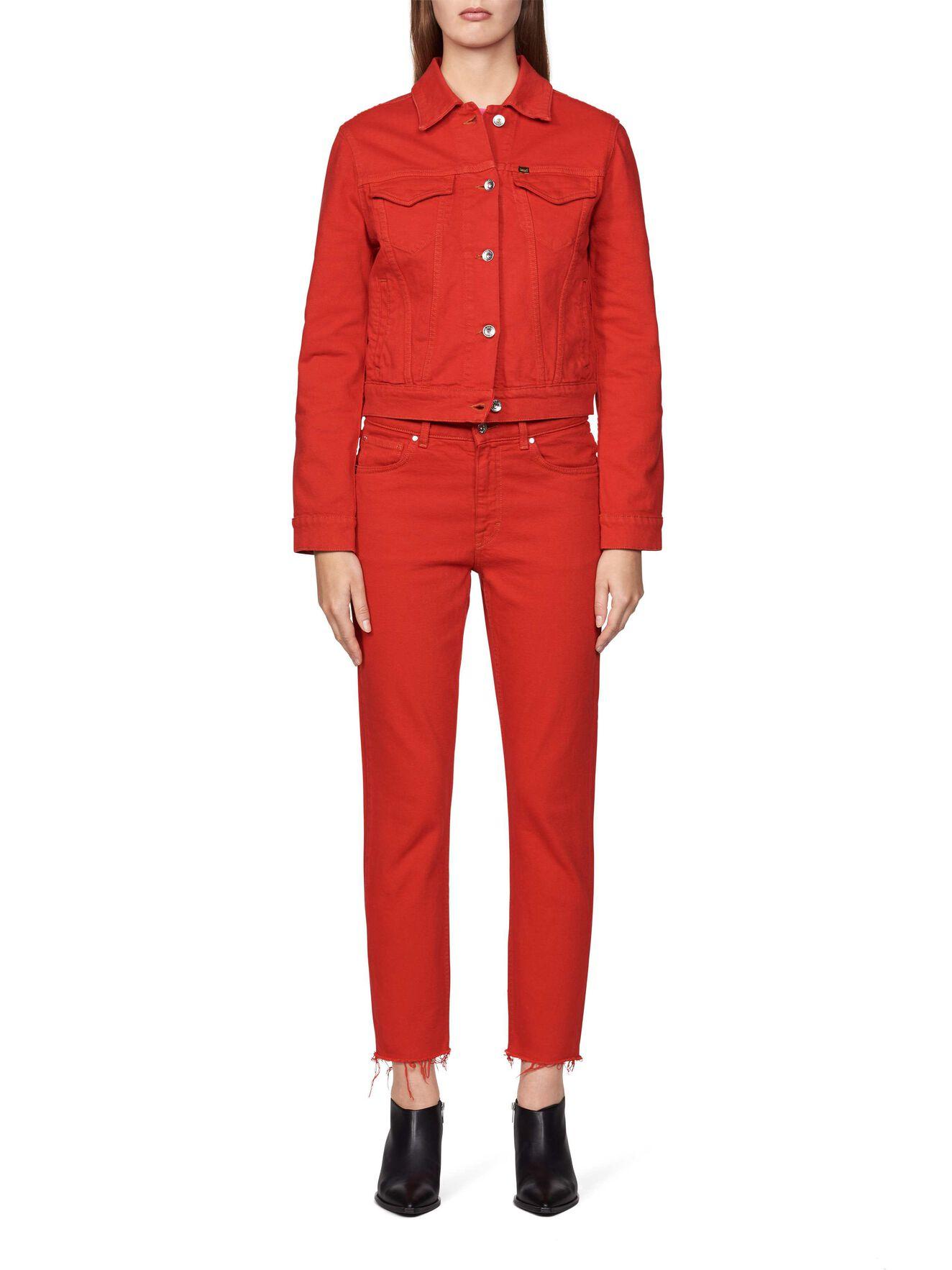 True Jacket in Valiant Poppy from Tiger of Sweden