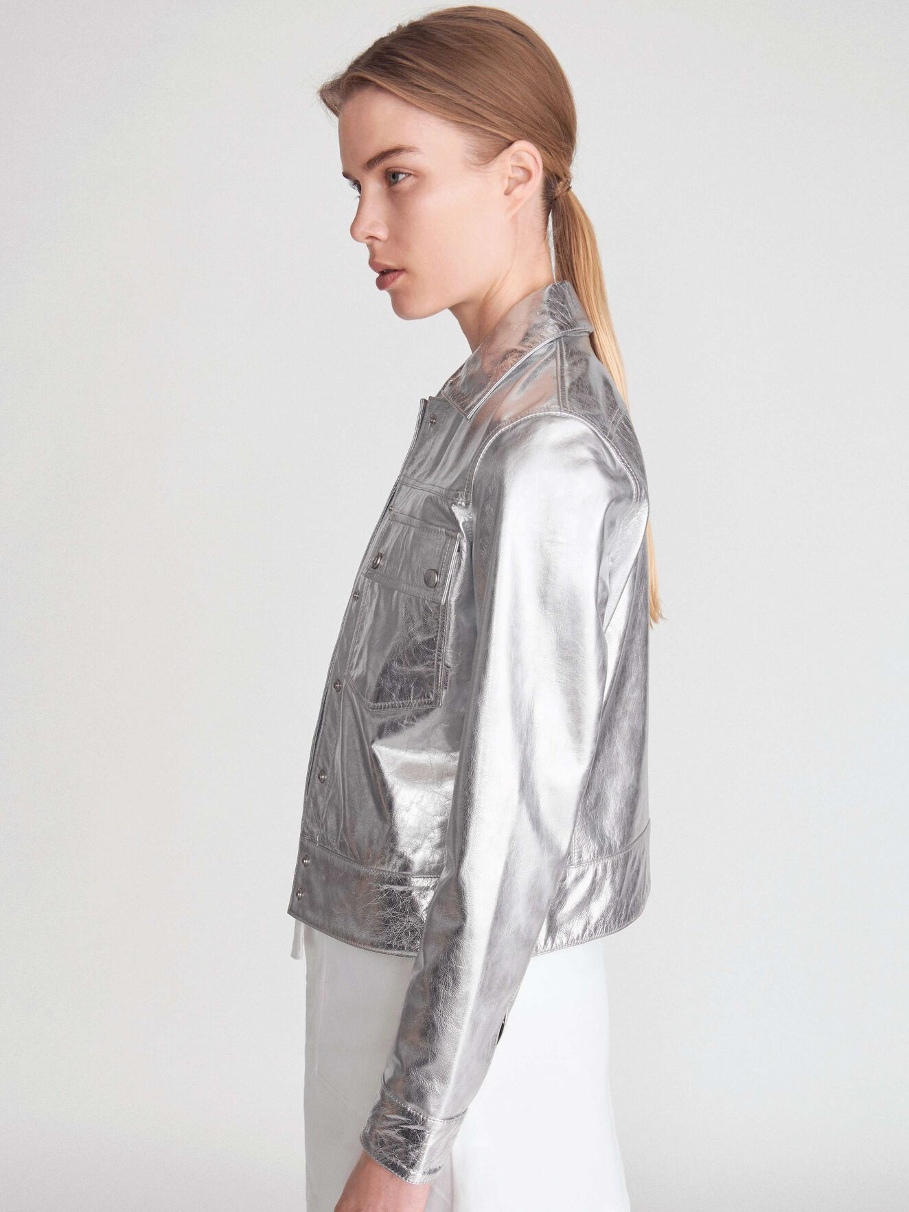 Sonic M Jacket in Mercury Grey from Tiger of Sweden