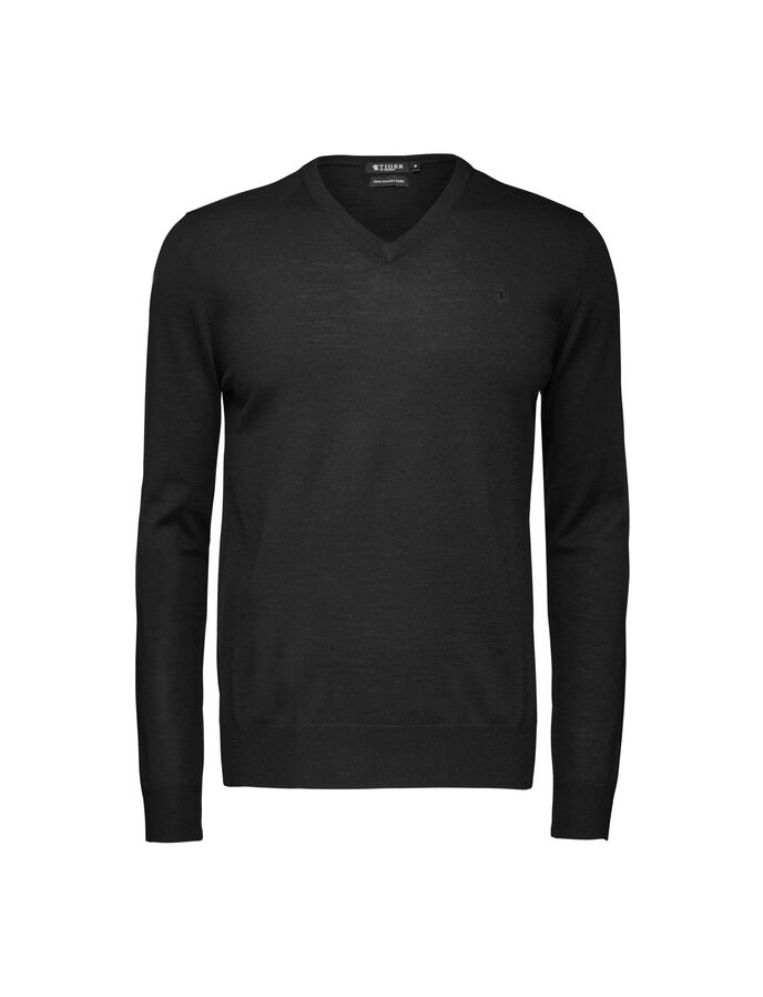 Rael T pullover in Black from Tiger of Sweden