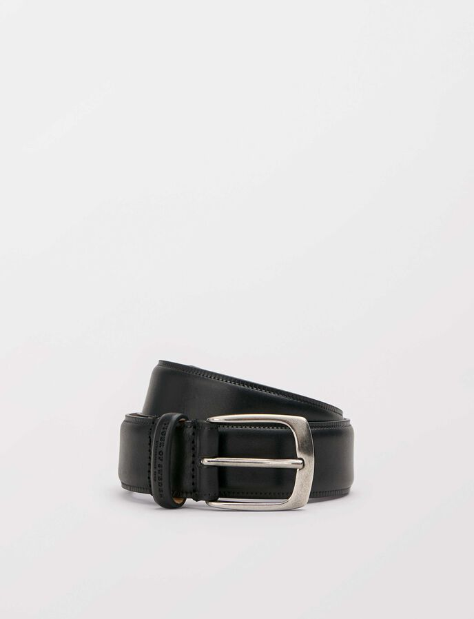 Blommer belt in Black from Tiger of Sweden