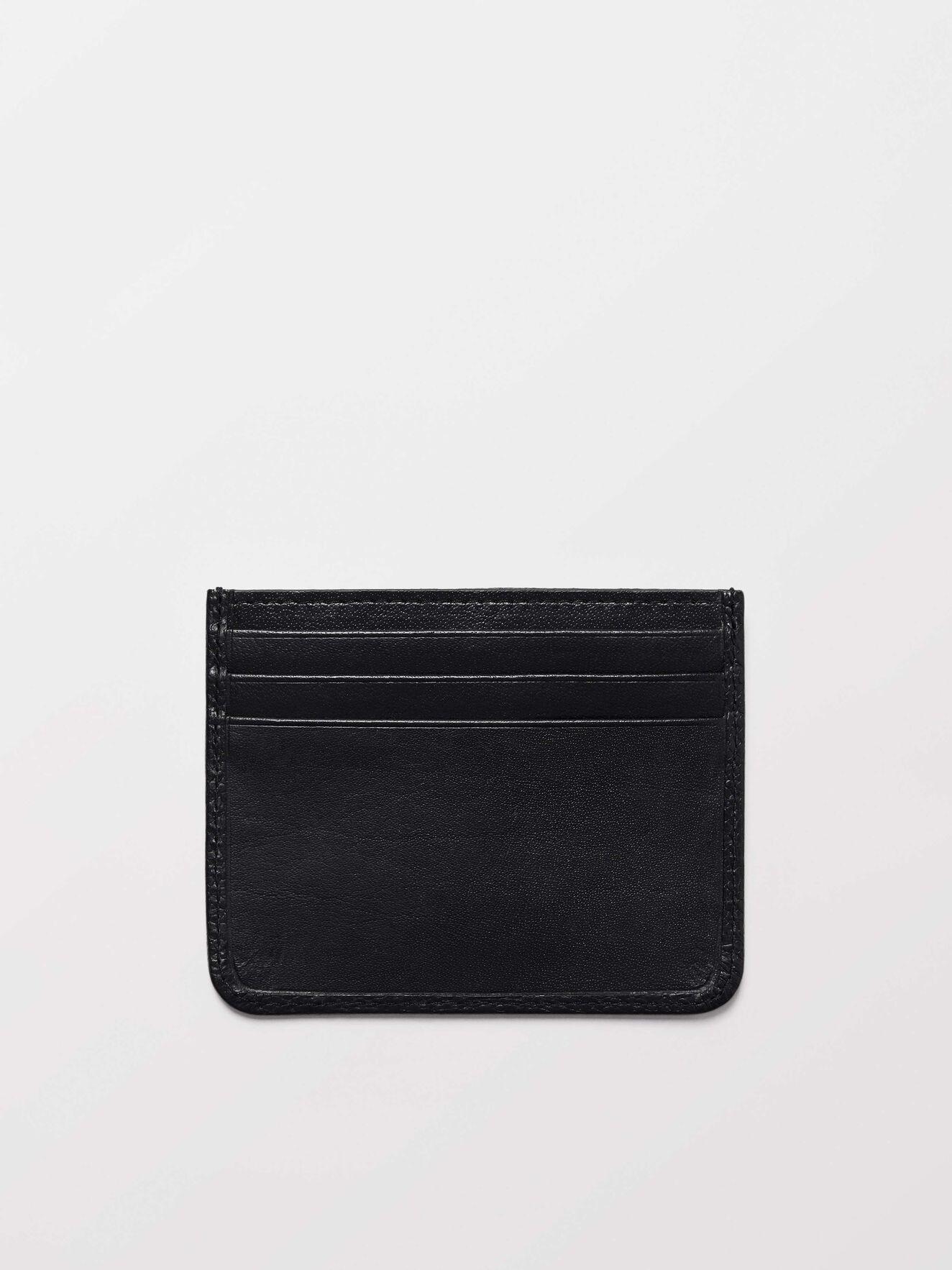 Gleizes Card Holder in Black from Tiger of Sweden