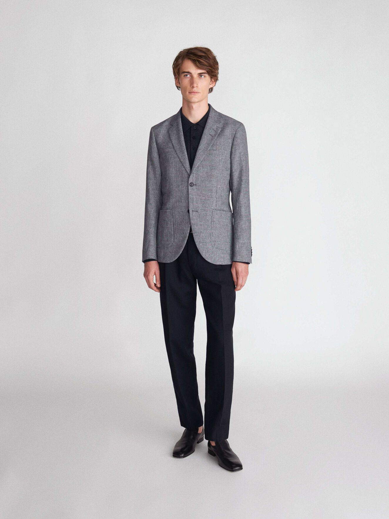 Jamot Hl Blazer in Light grey melange from Tiger of Sweden