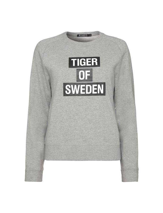 ERIIKA SWEATSHIRT in Dark White from Tiger of Sweden