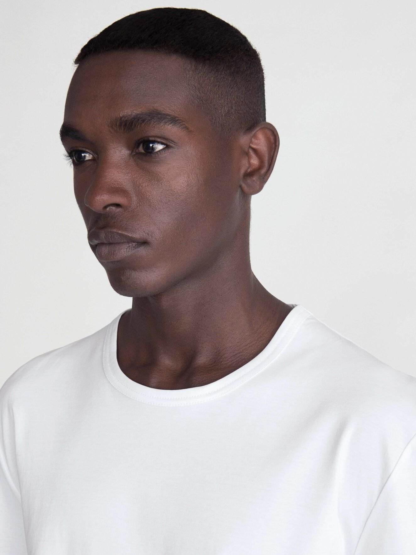 Dain T-Shirt in Pure white from Tiger of Sweden