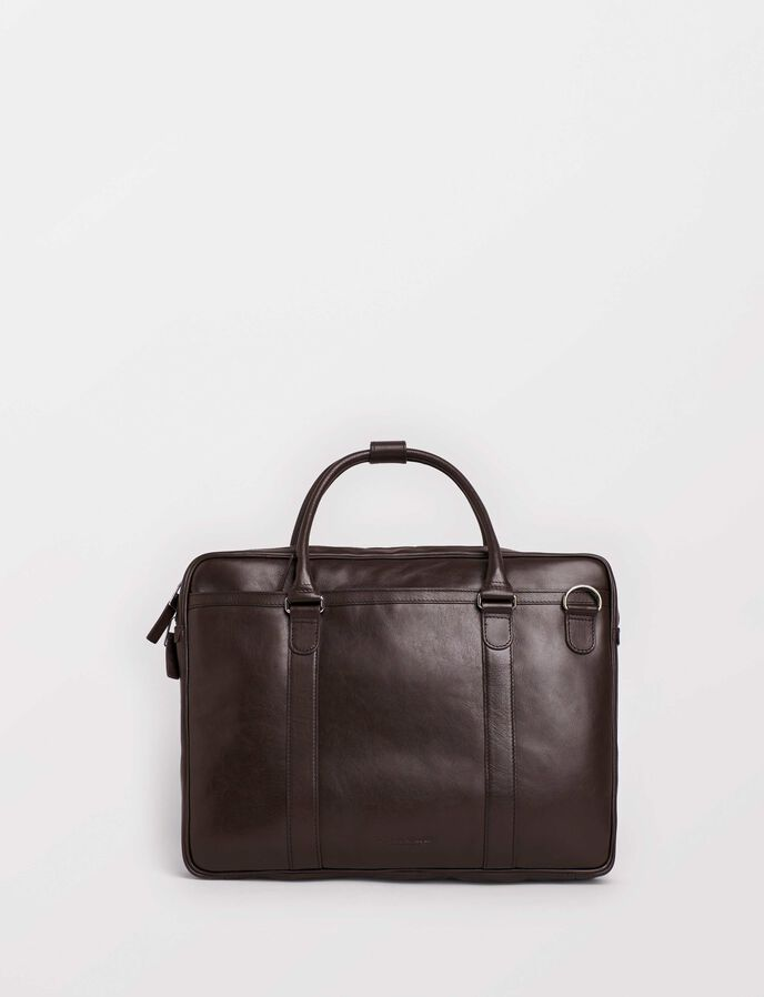 Marquet Briefcase in Dark Brown from Tiger of Sweden
