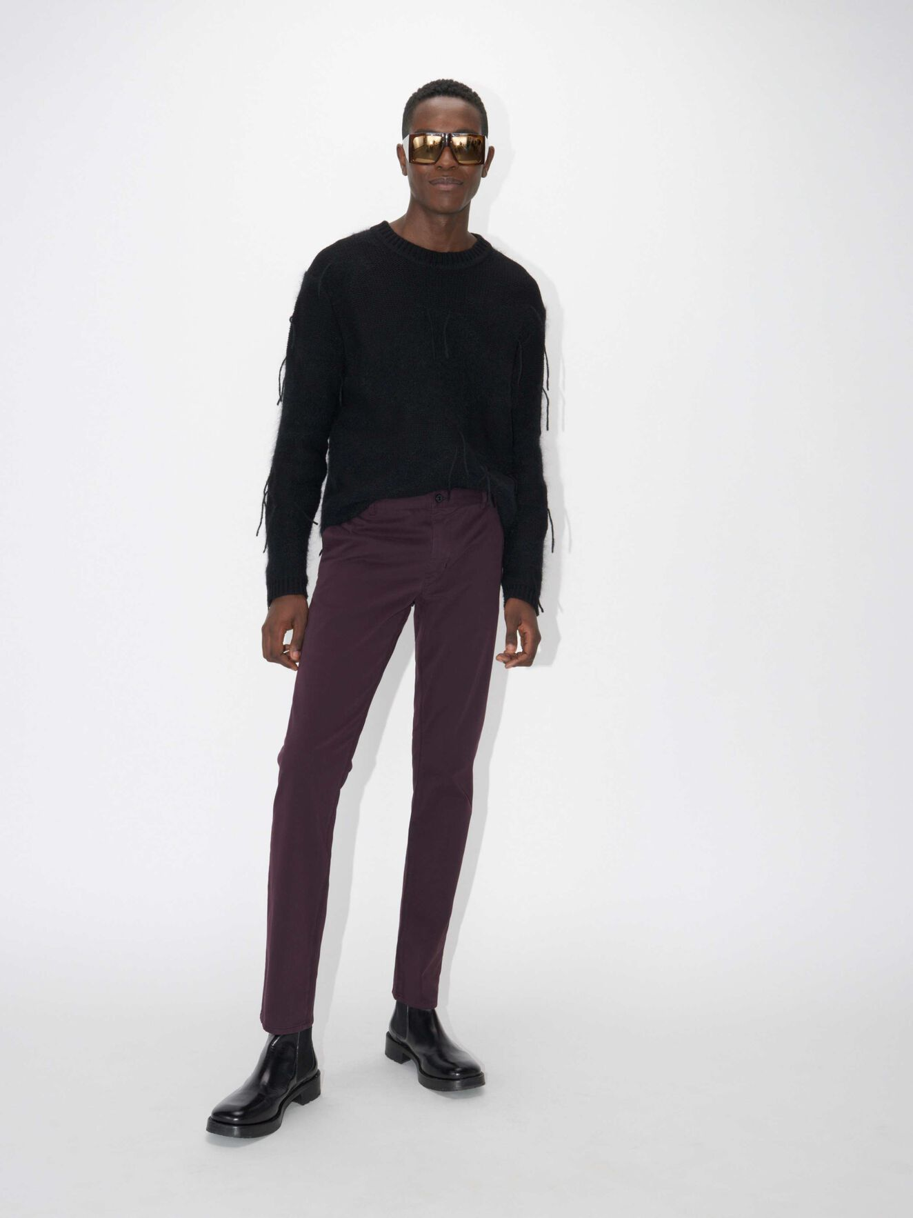 13b591c9 Transit 4 Trousers in Regal Red from Tiger of Sweden