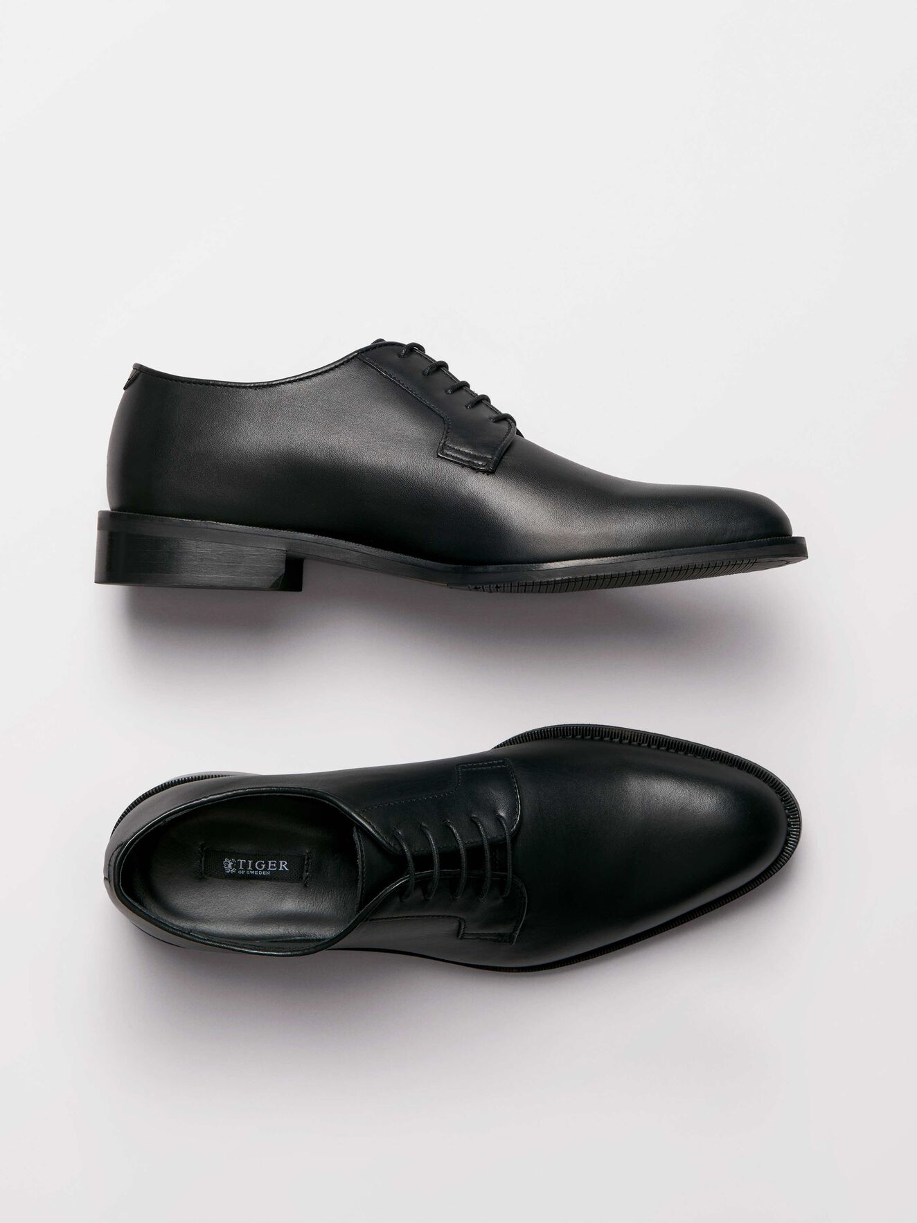 Agaton Shoe in Black from Tiger of Sweden