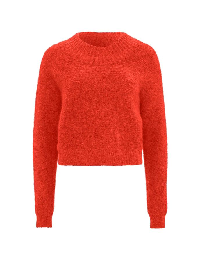 GERA PULLOVER in Flame Red from Tiger of Sweden