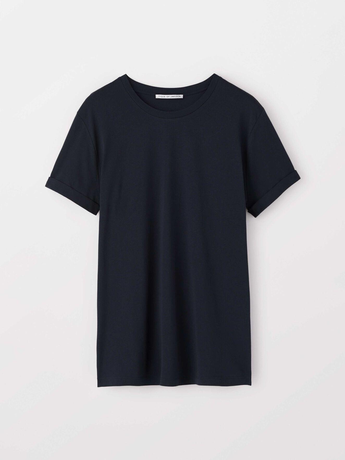 Kiet T-Shirt in Navy from Tiger of Sweden