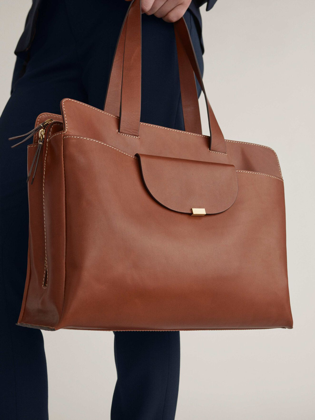Edita Work Bag in Light Brown from Tiger of Sweden
