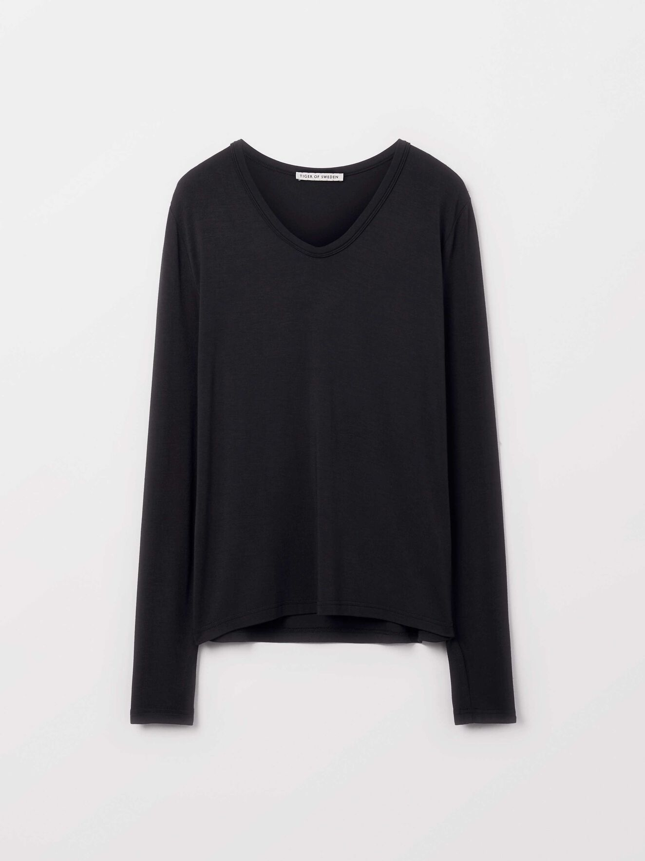 Hapalan T-Shirt in Black from Tiger of Sweden