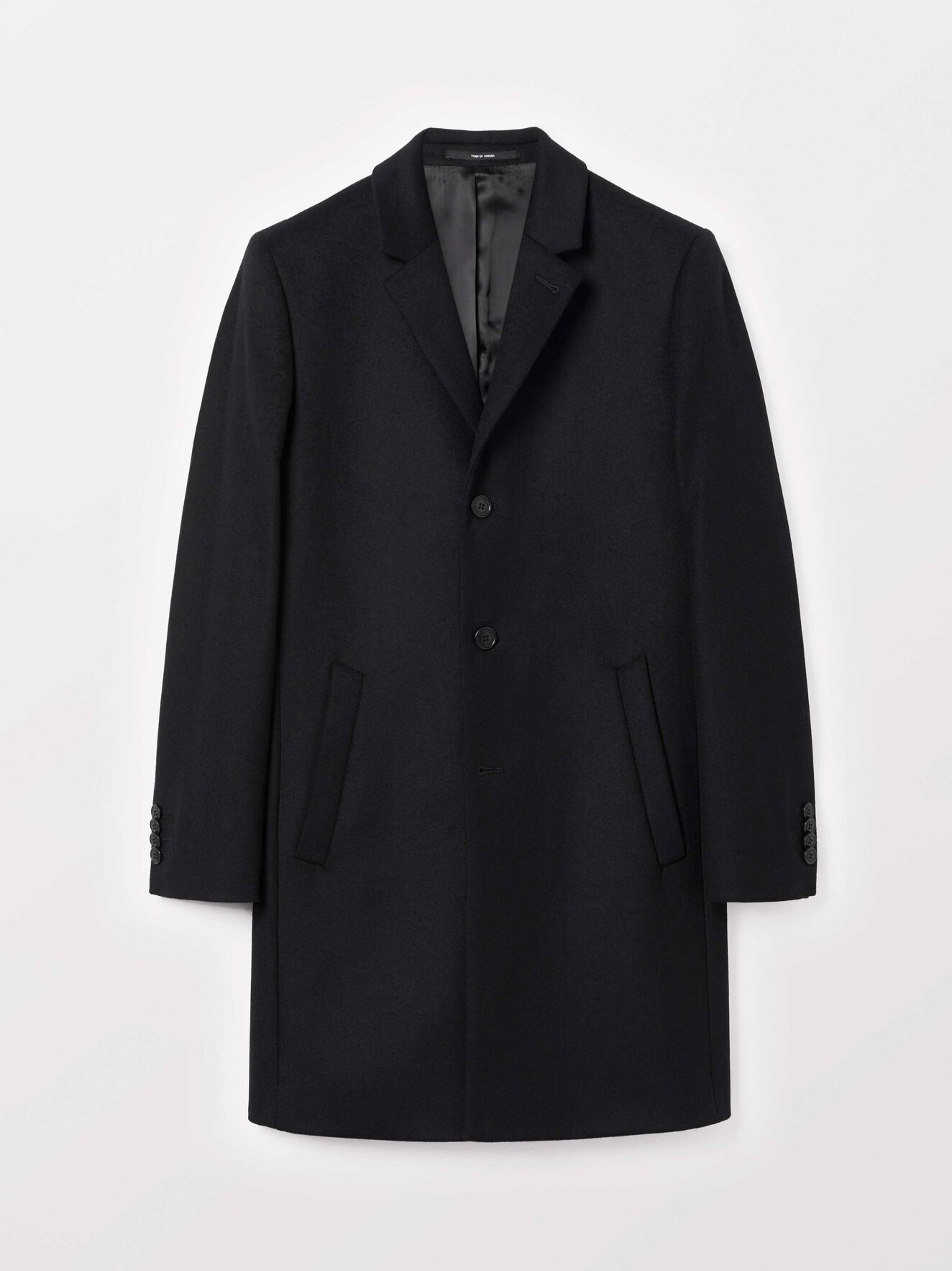 Dempsey Coat in Black from Tiger of Sweden