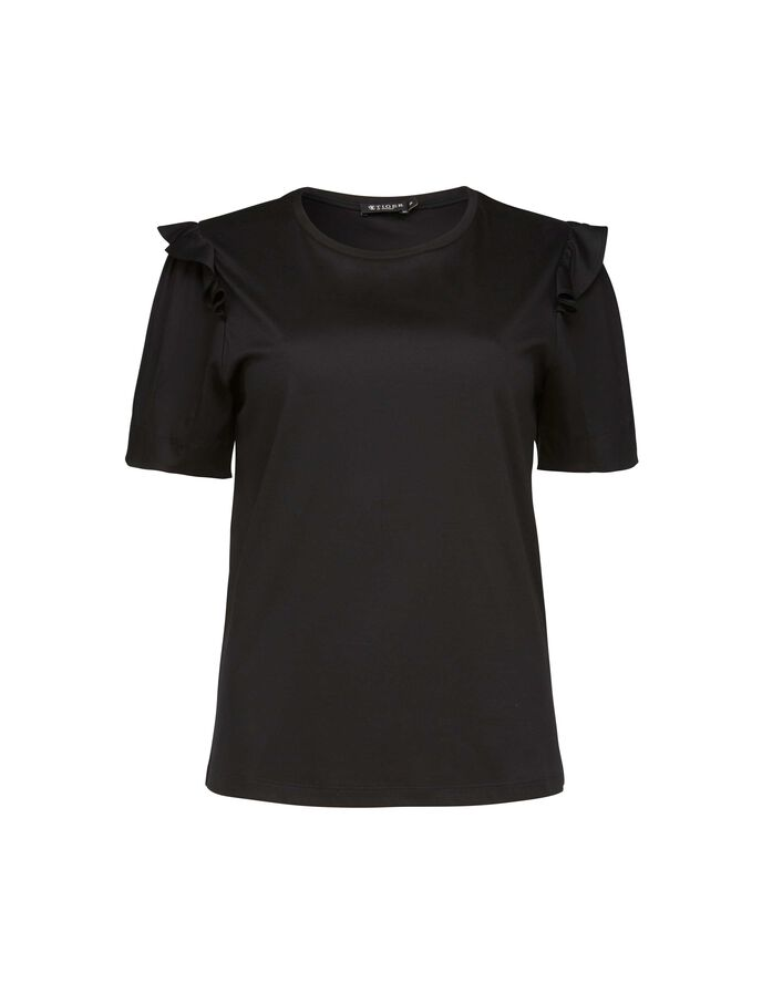 GIEDRE TOP in Midnight Black from Tiger of Sweden
