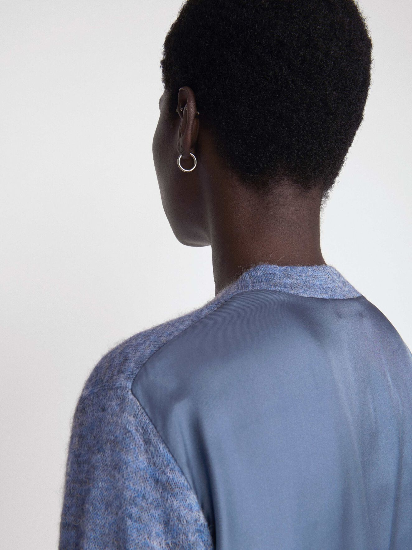 Hassi Cardigan in Soft blue from Tiger of Sweden