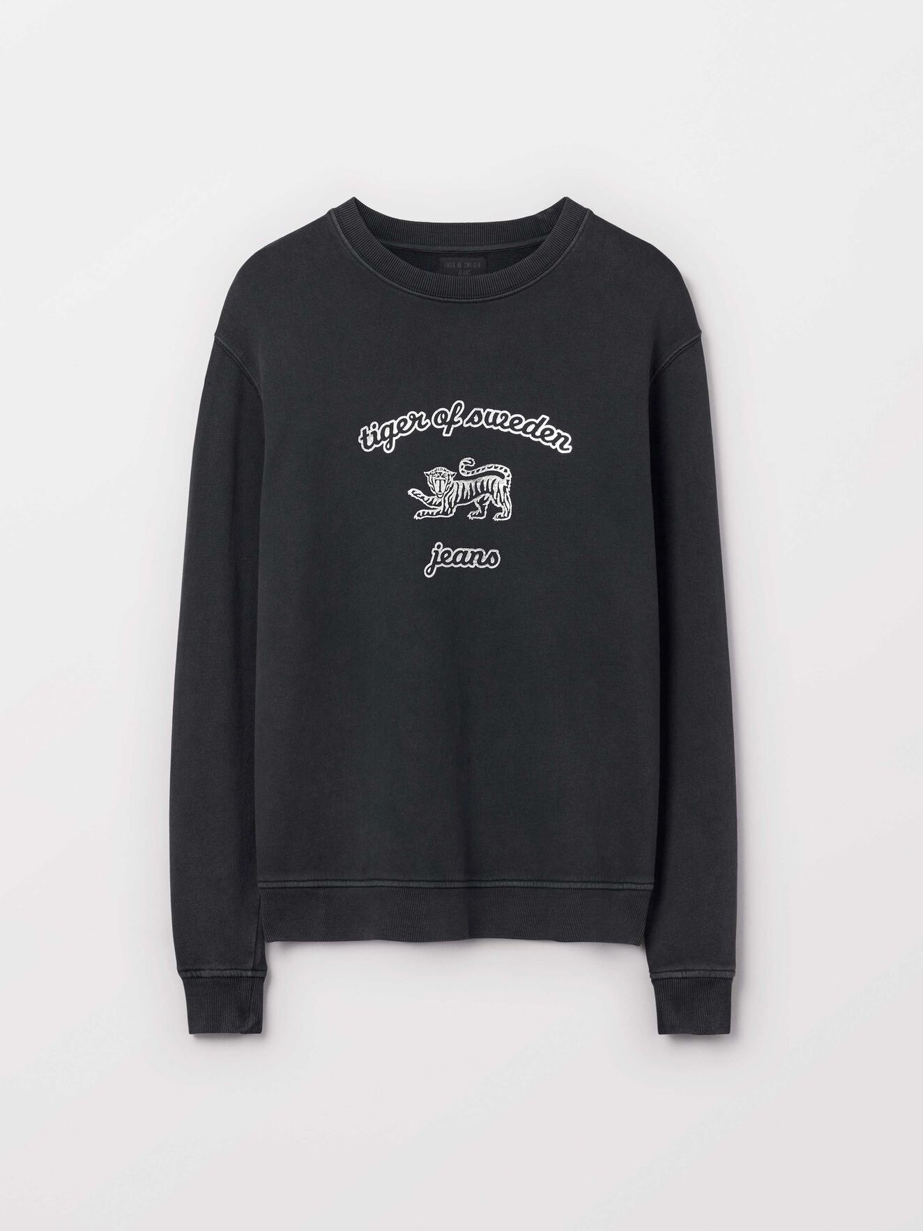 Tana O Sweatshirt in Black from Tiger of Sweden