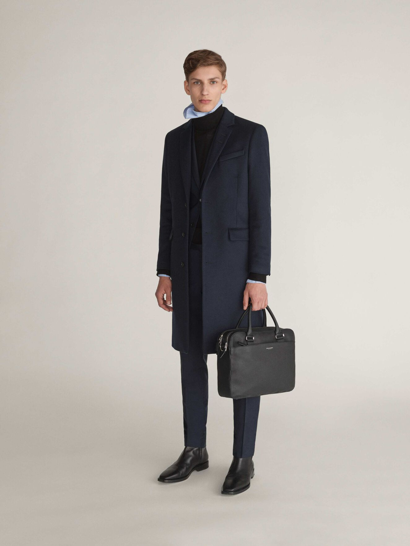 Alva Briefcase in Black from Tiger of Sweden