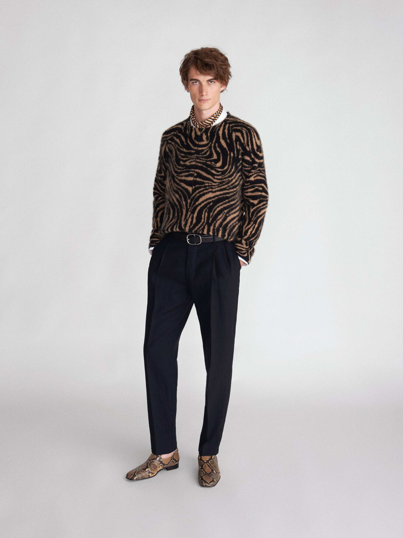 Nexton Pullover in Black from Tiger of Sweden