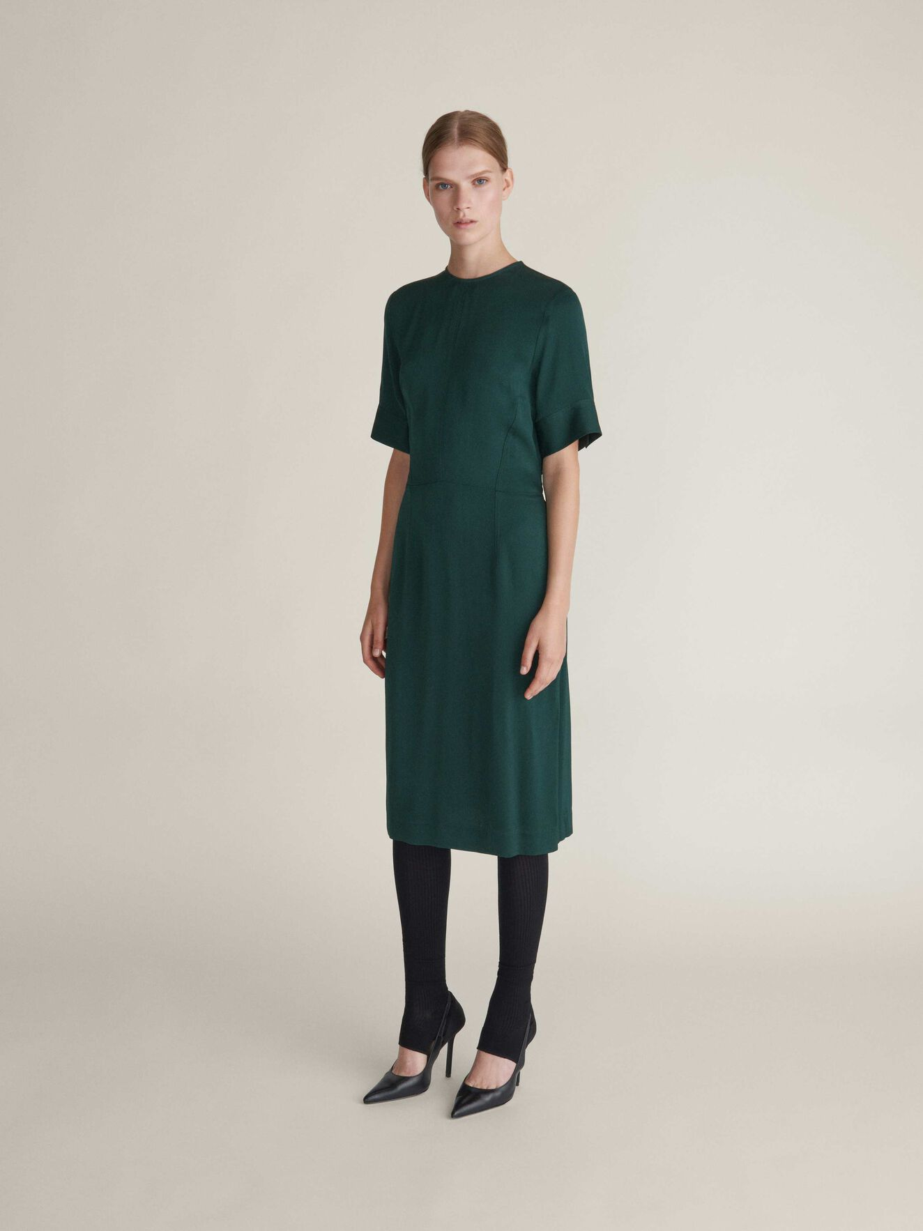 Alabama Dress in Dark Forest from Tiger of Sweden
