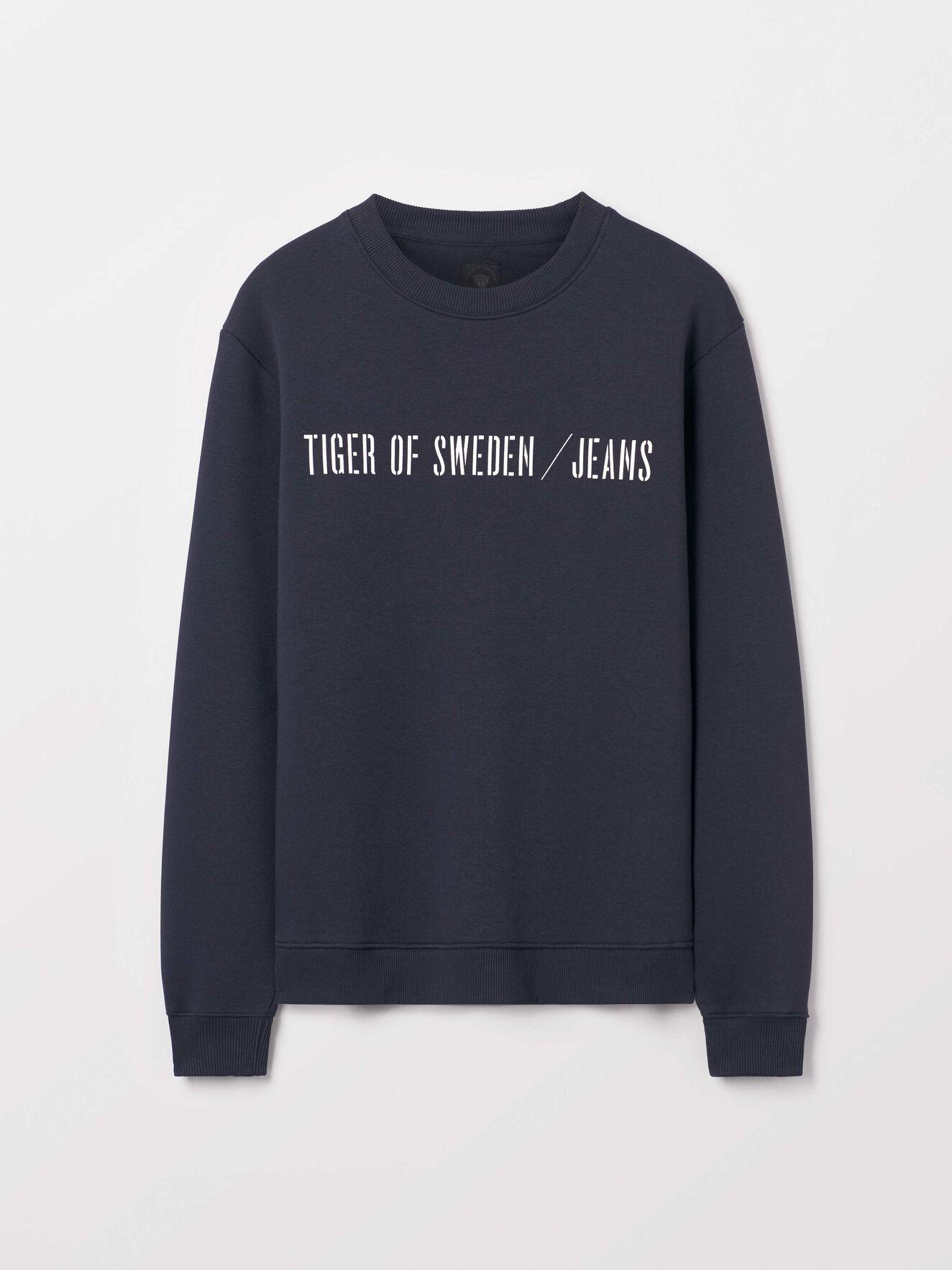 Tana Pr Sweatshirt in Deep Well from Tiger of Sweden