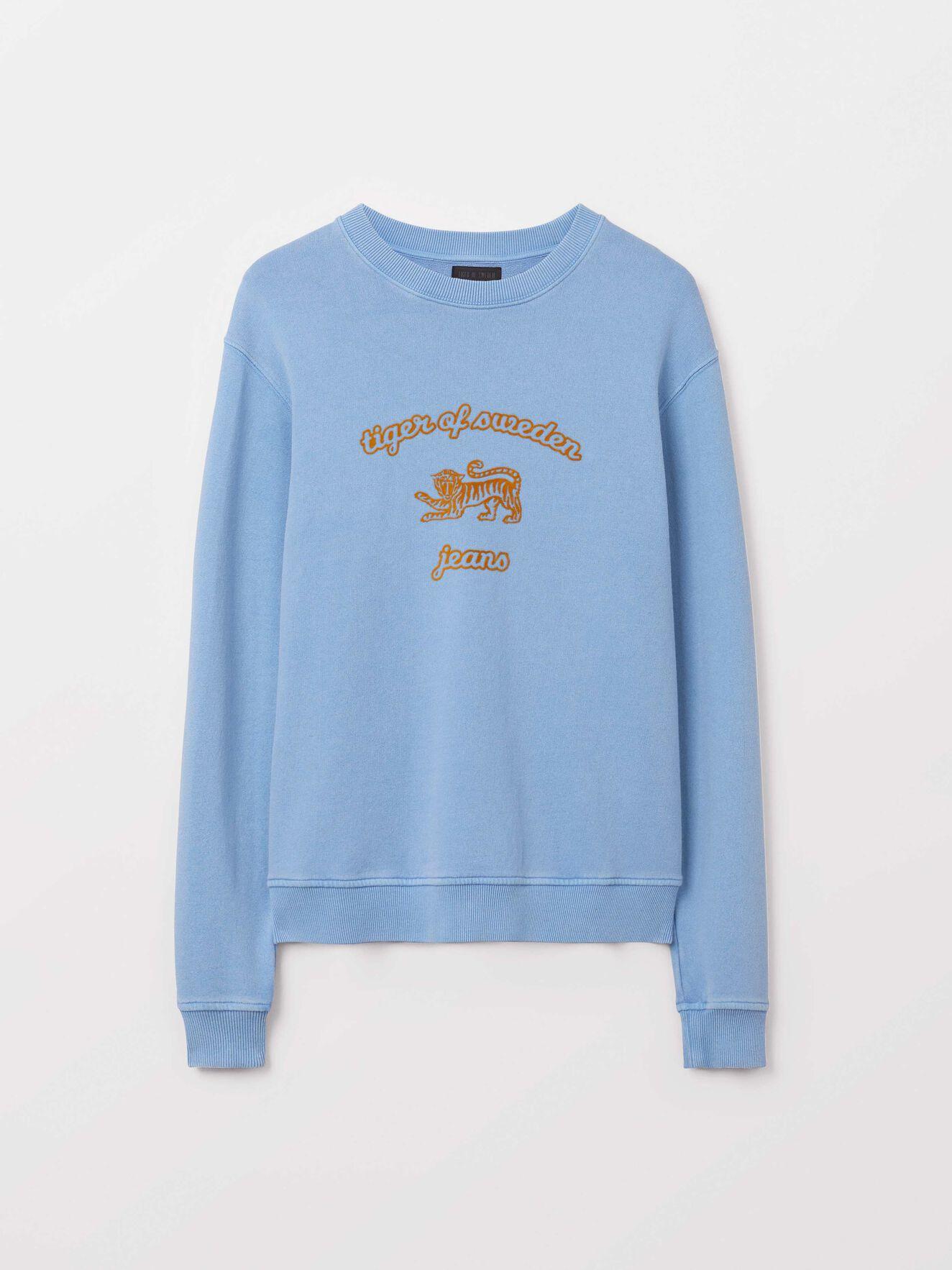 Tana O Sweatshirt in True Sailor from Tiger of Sweden