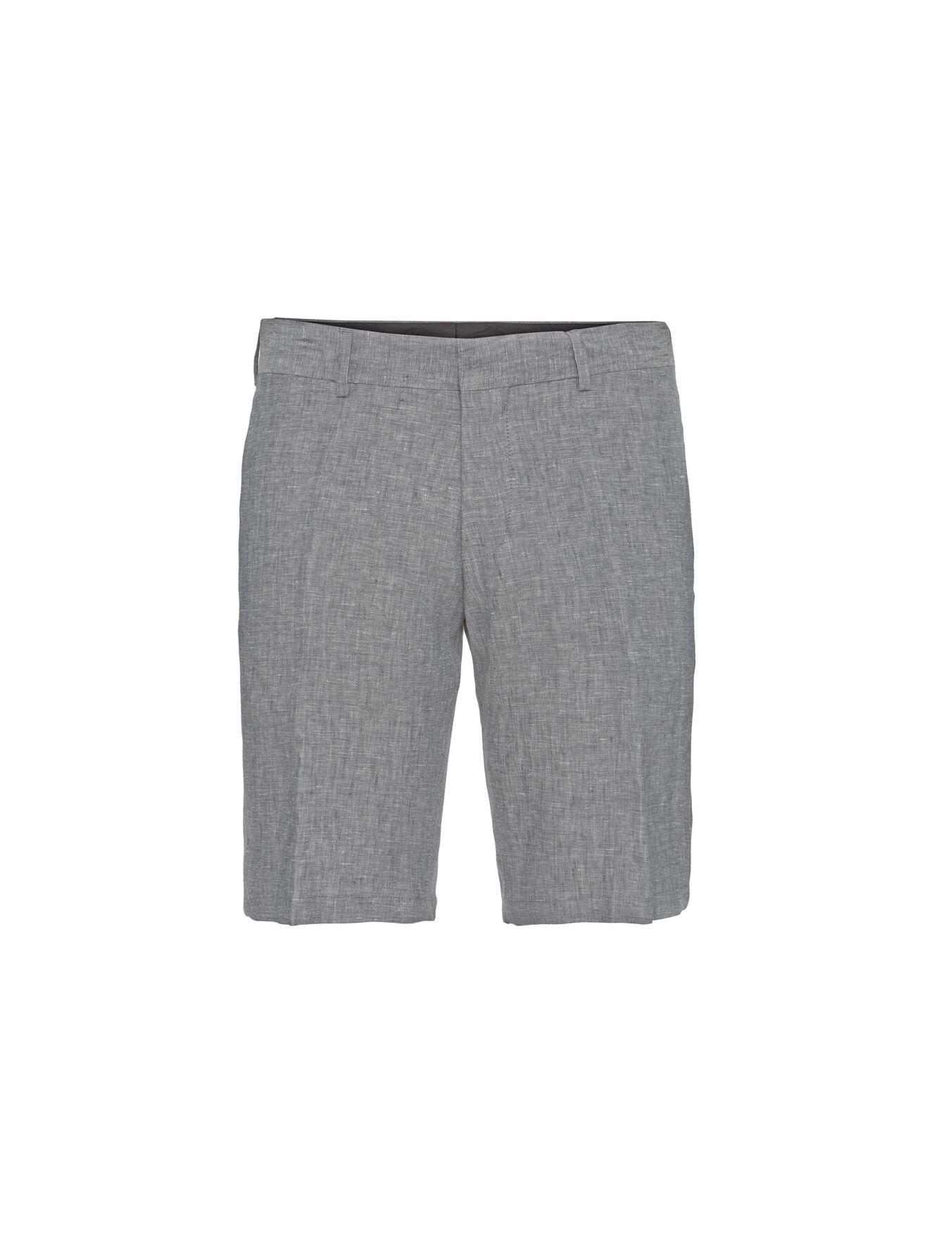 Hills 6 Shorts in Light grey melange from Tiger of Sweden