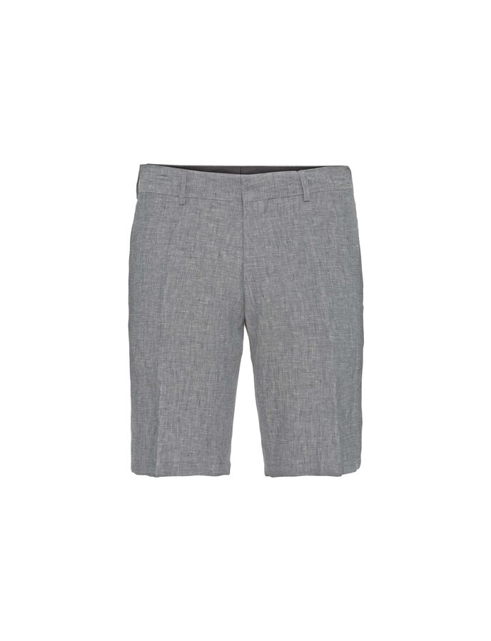 HILLS 6 SHORTS in Light grey melange from Tiger of Sweden