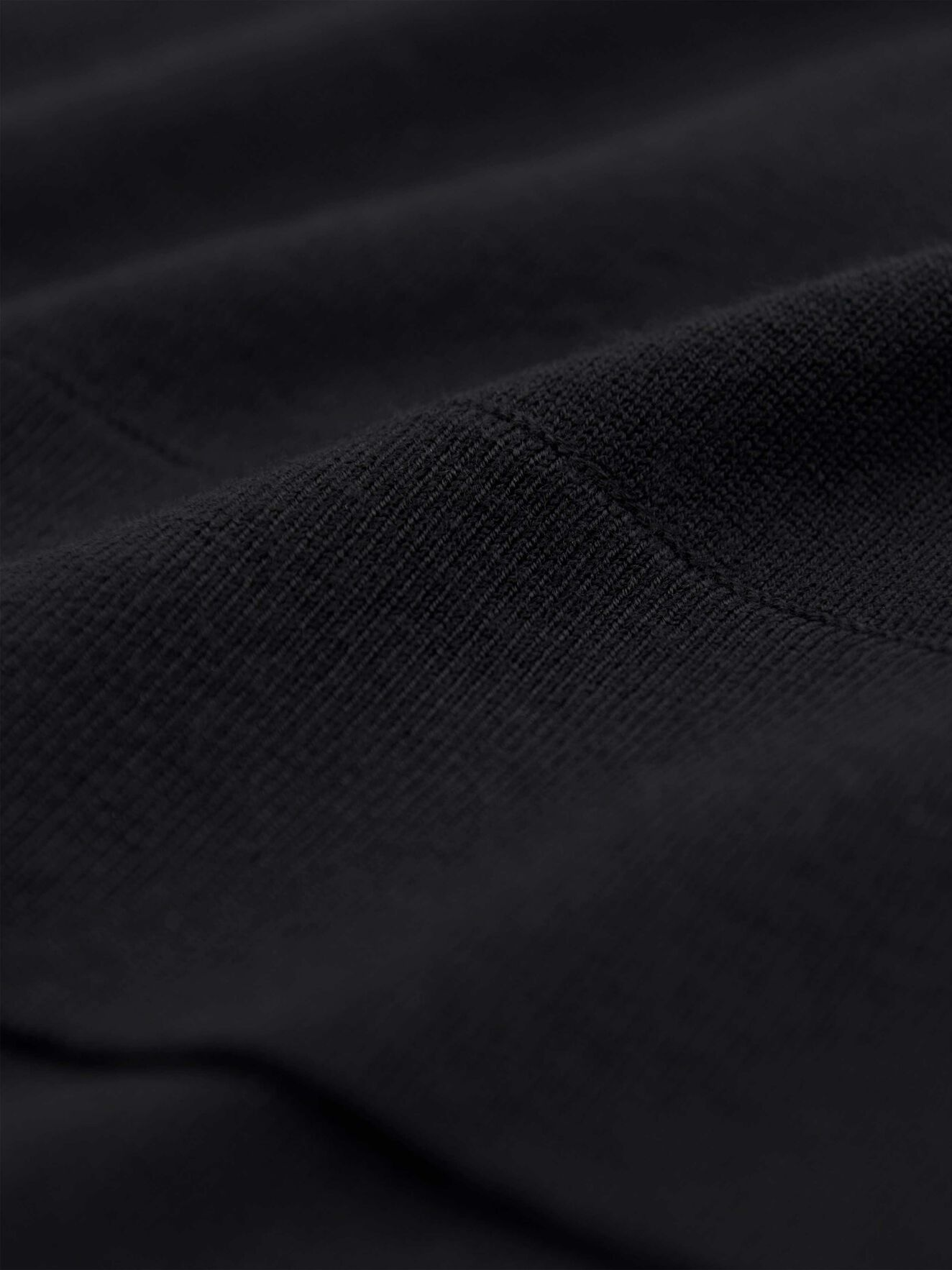 Lepus Pullover in Midnight Black from Tiger of Sweden