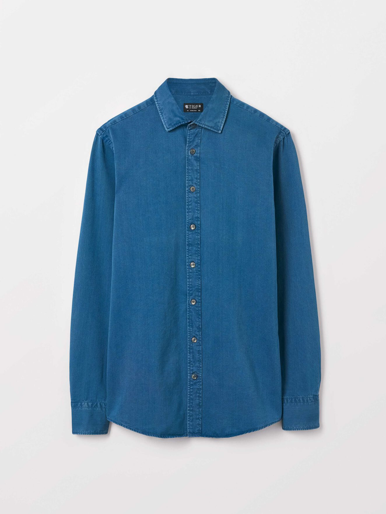 Fridolf Shirt in Blue from Tiger of Sweden