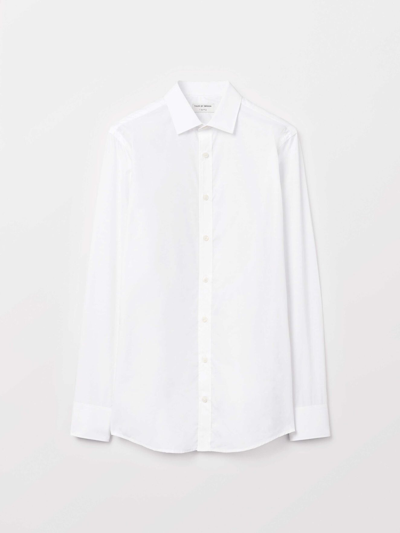 Fridolf Shirt in Pure white from Tiger of Sweden