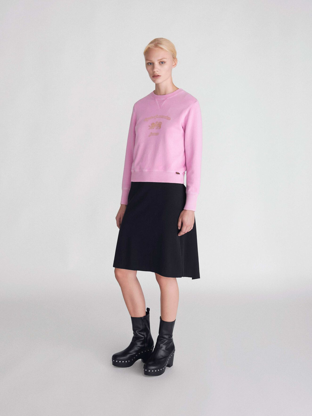 Obscura Pr Sweatshirt in Pink from Tiger of Sweden