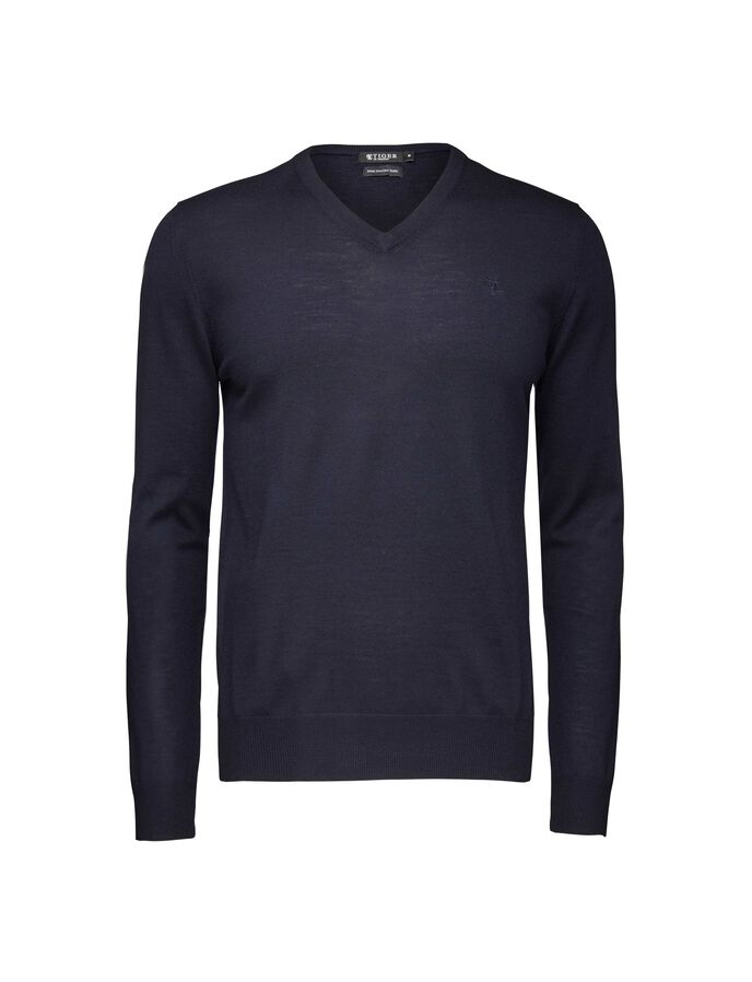 Rael T pullover in Light Ink from Tiger of Sweden