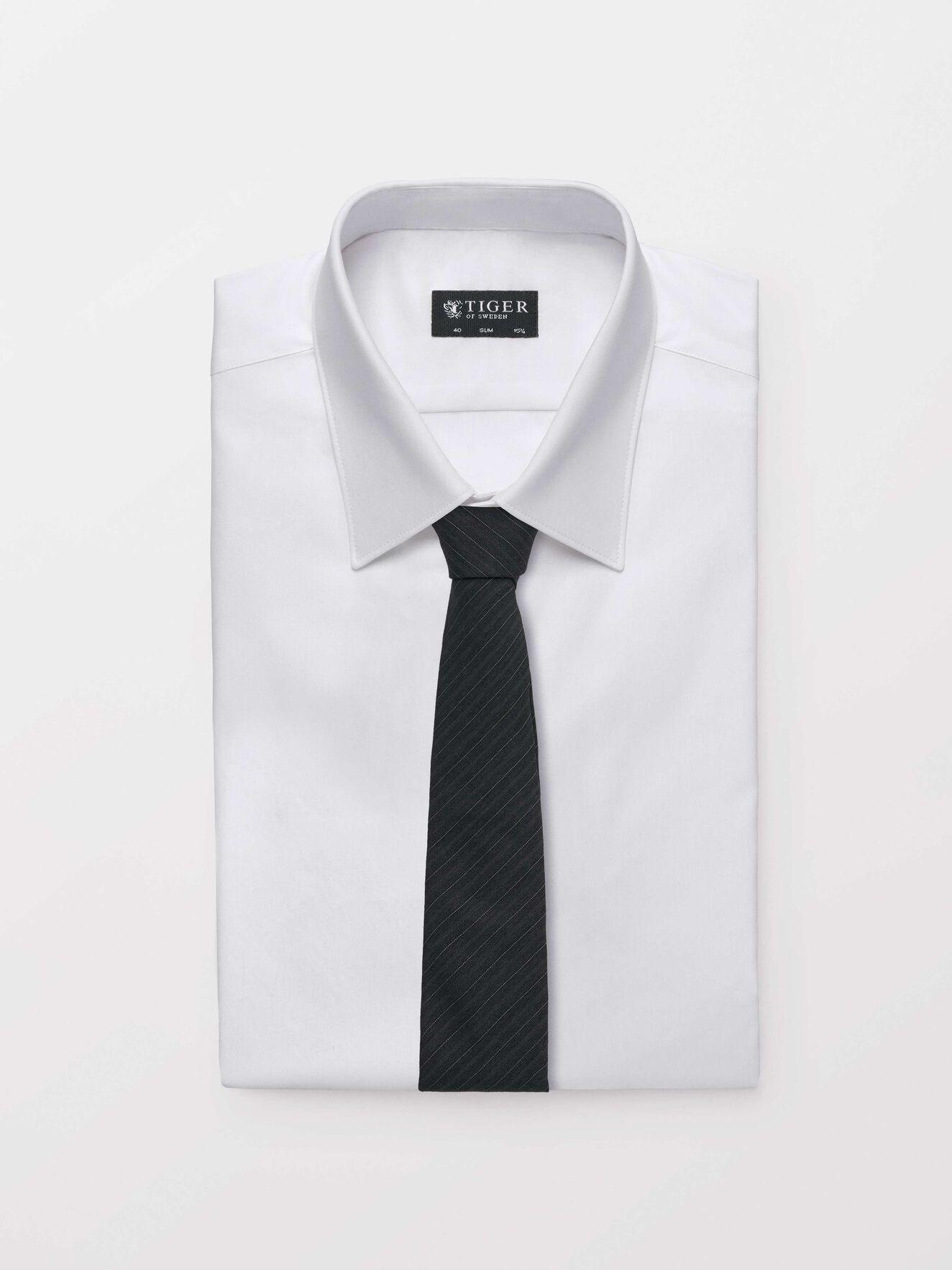 Trage Tie in Dark grey Mel from Tiger of Sweden