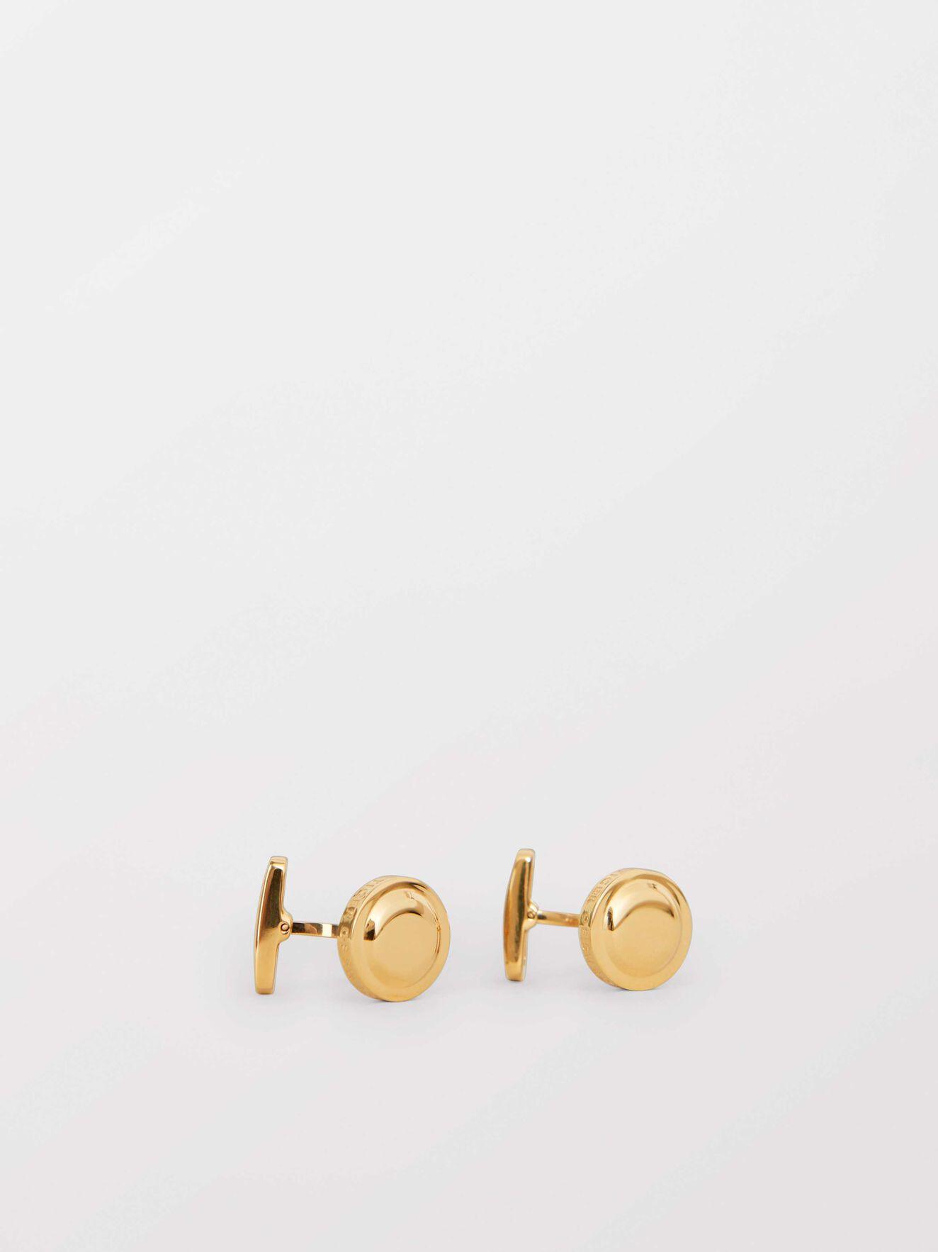 Kollett Cufflinks in Gold from Tiger of Sweden