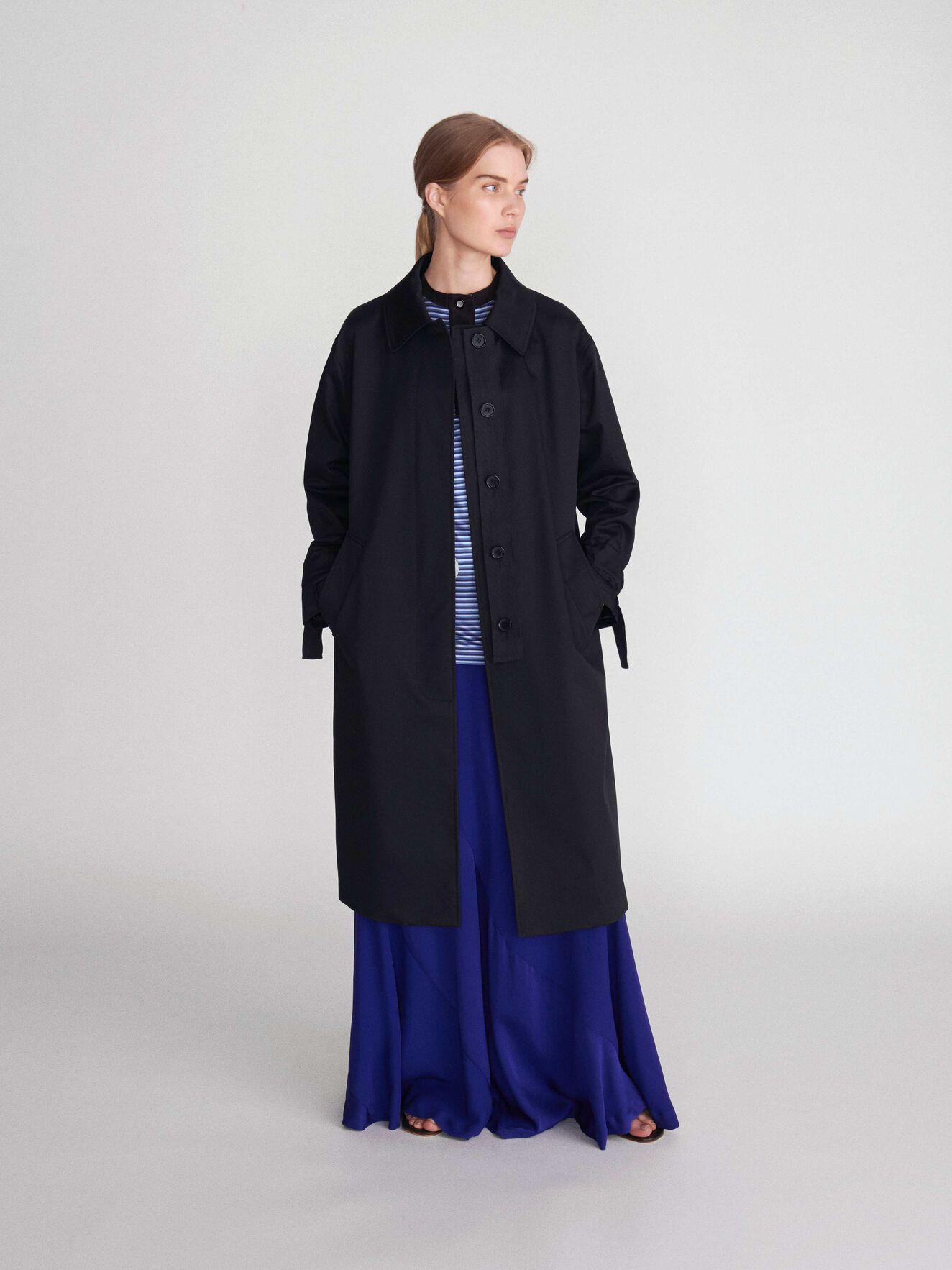 Agit Coat in Black from Tiger of Sweden