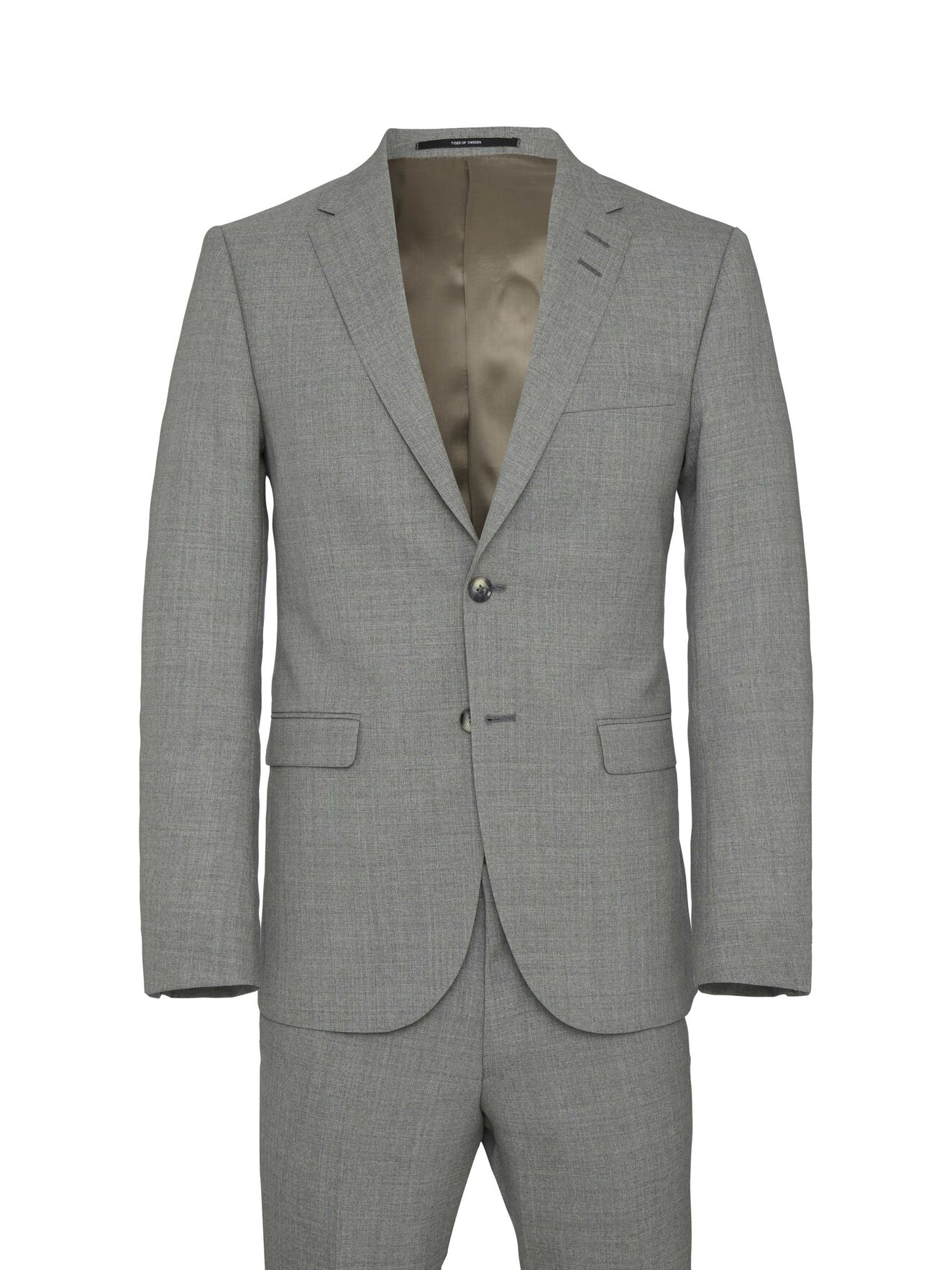 Henrie Suit in Light Grey from Tiger of Sweden