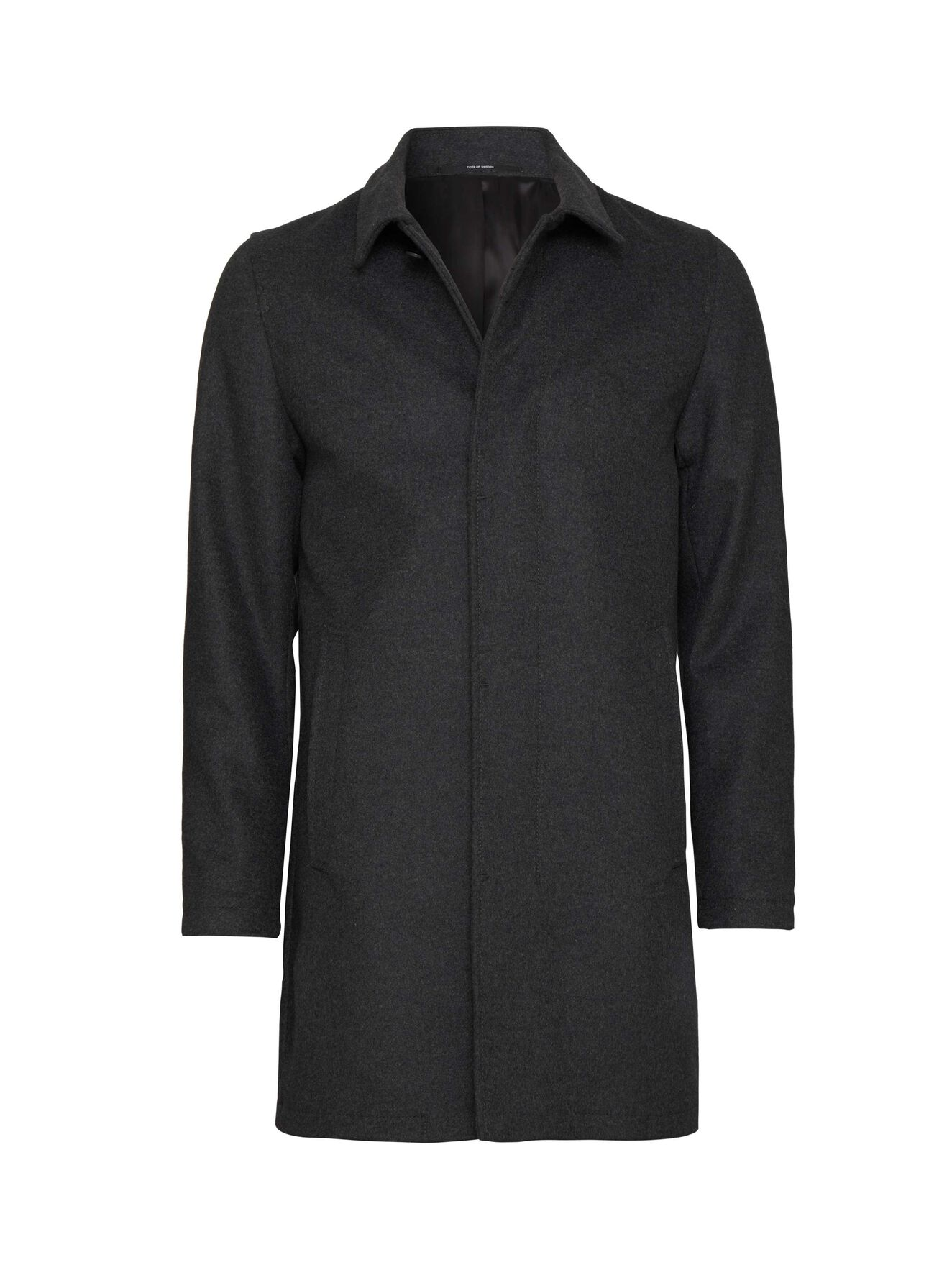 Bruiser15 Coat in Charcoal from Tiger of Sweden