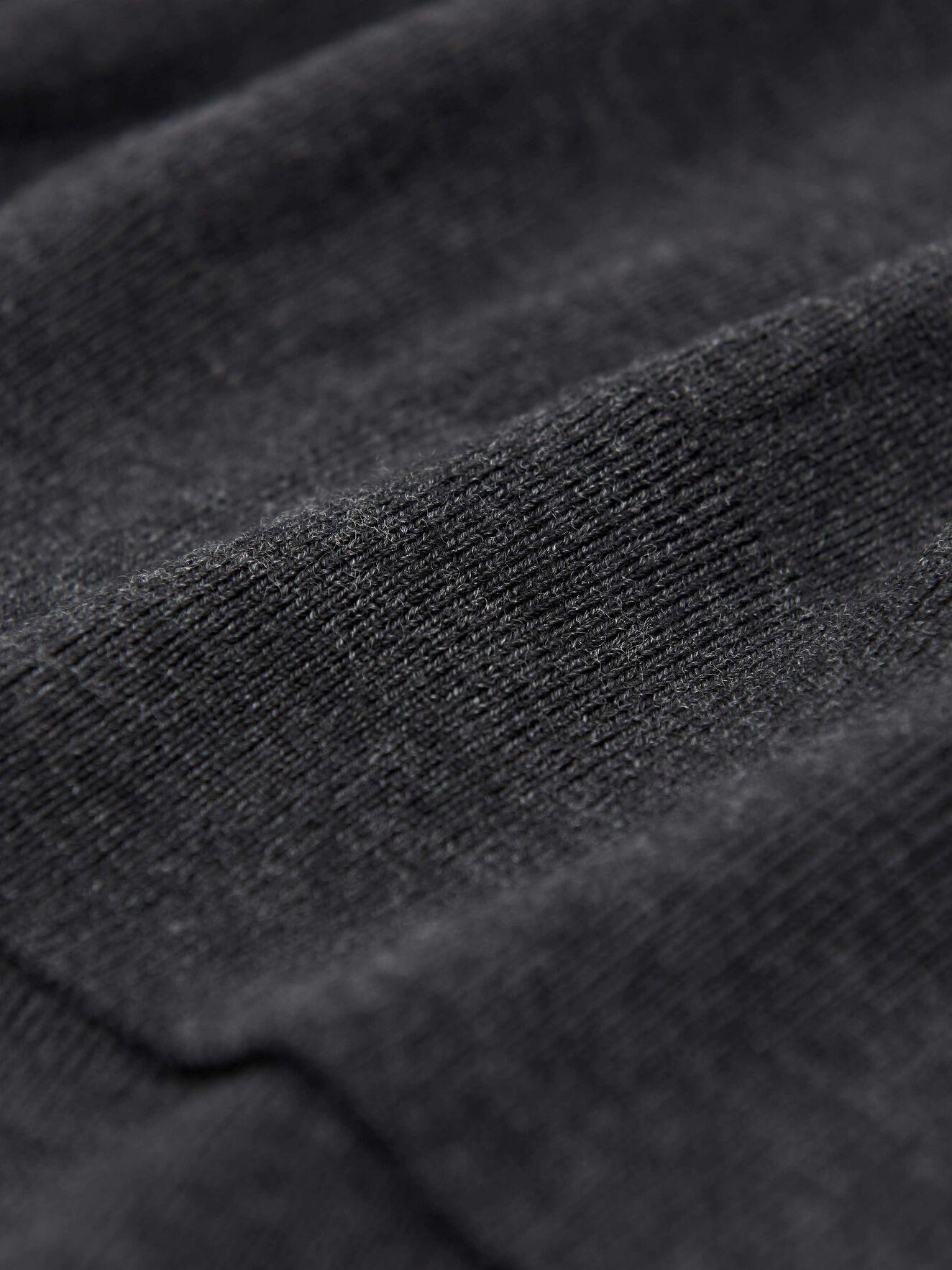 Newton Pullover in Dark grey Mel from Tiger of Sweden