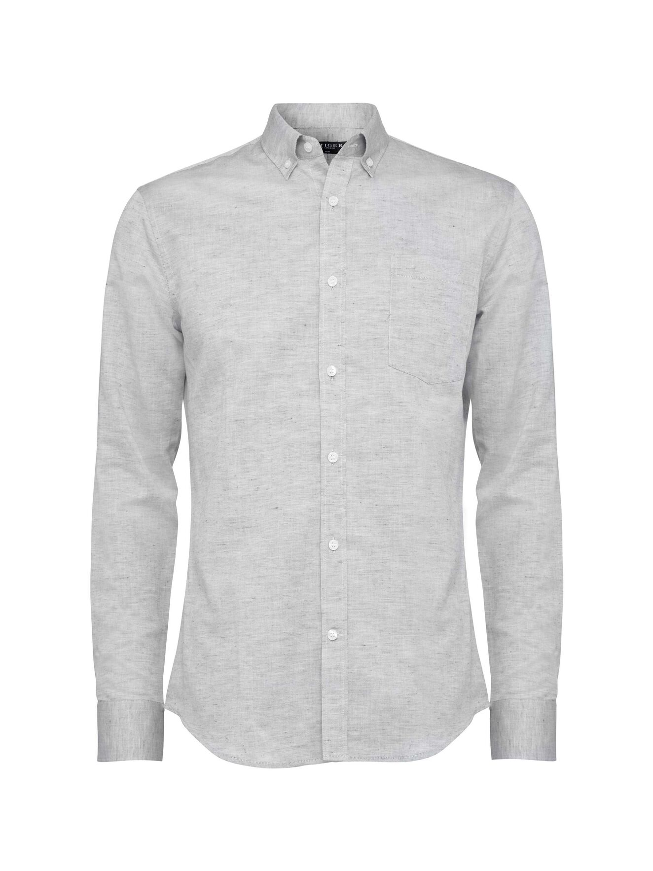 Donald 4 Shirt in Dark White from Tiger of Sweden