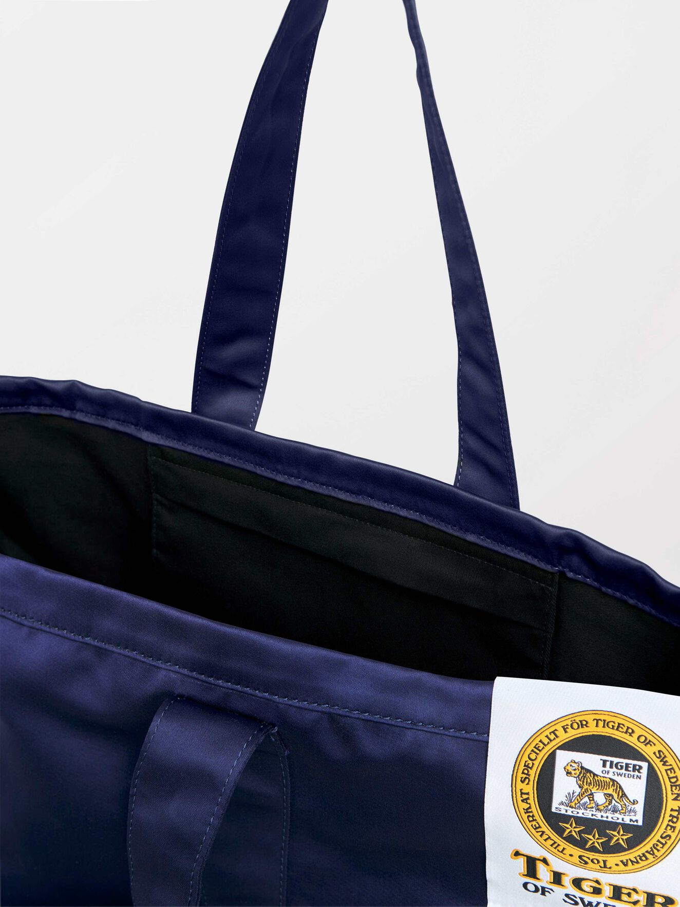 Drop S Tote  in Royal Blue from Tiger of Sweden