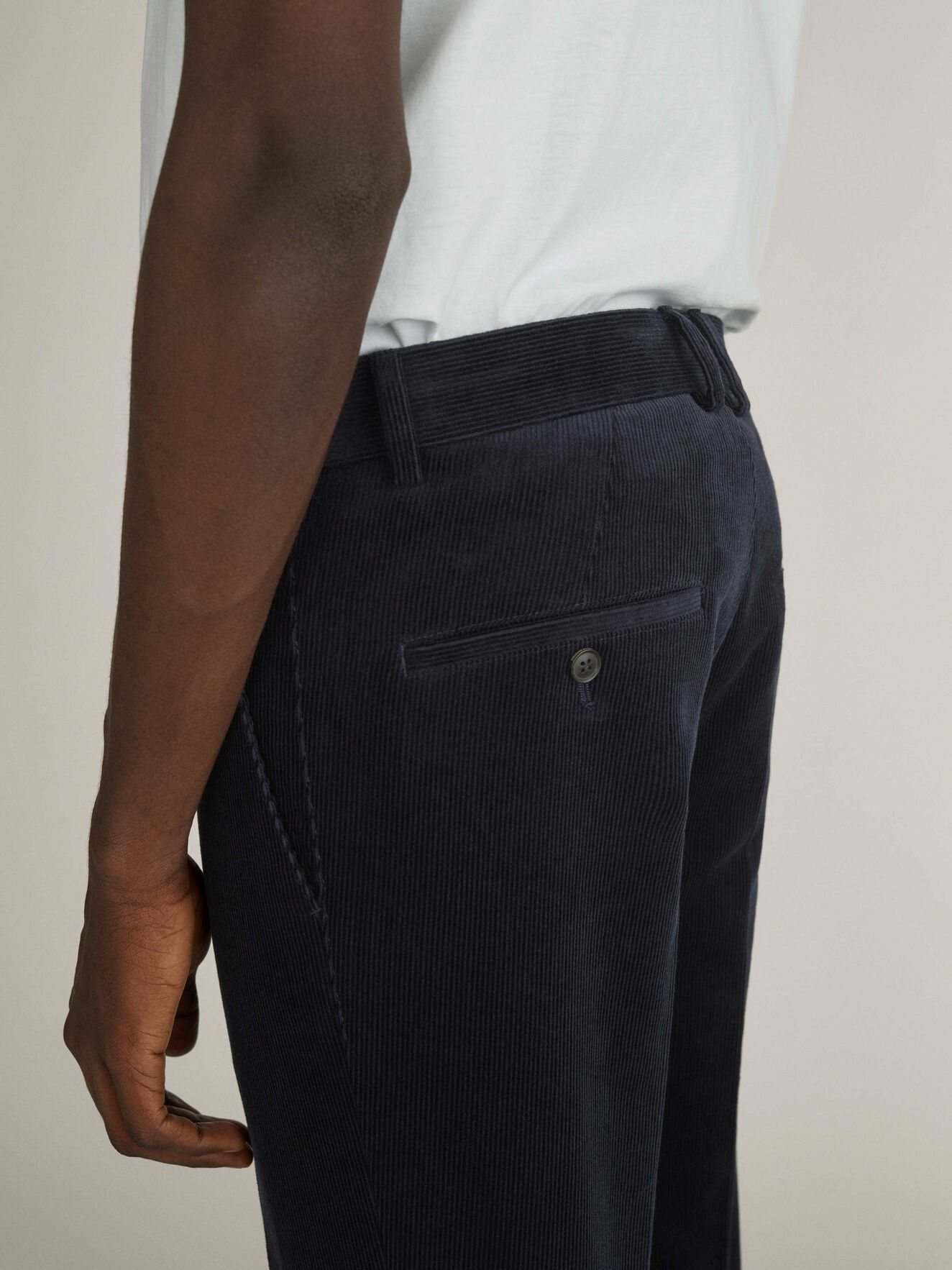 Todman Trousers in Light Ink from Tiger of Sweden